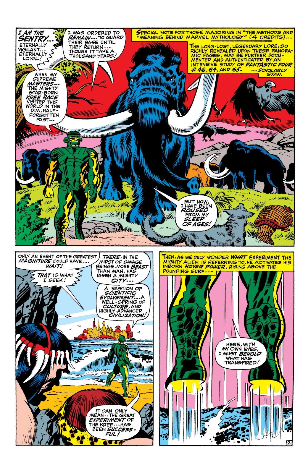 Read online Marvel Masterworks: The Inhumans comic -  Issue # TPB 1 (Part 1) - 14
