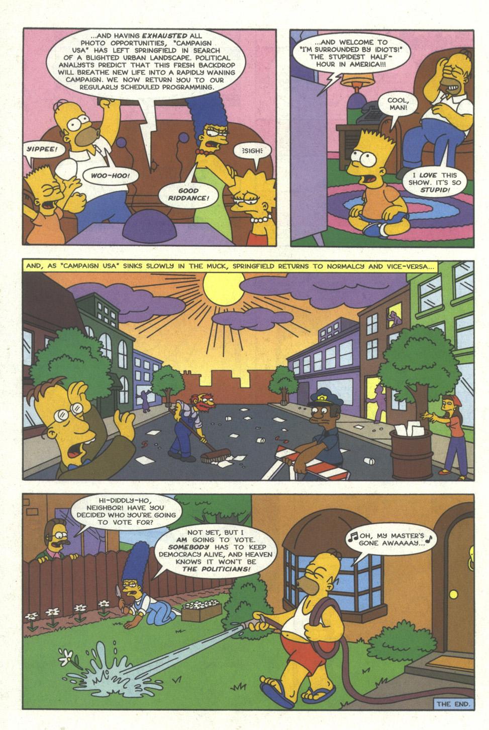 Read online Simpsons Comics comic -  Issue #24 - 23