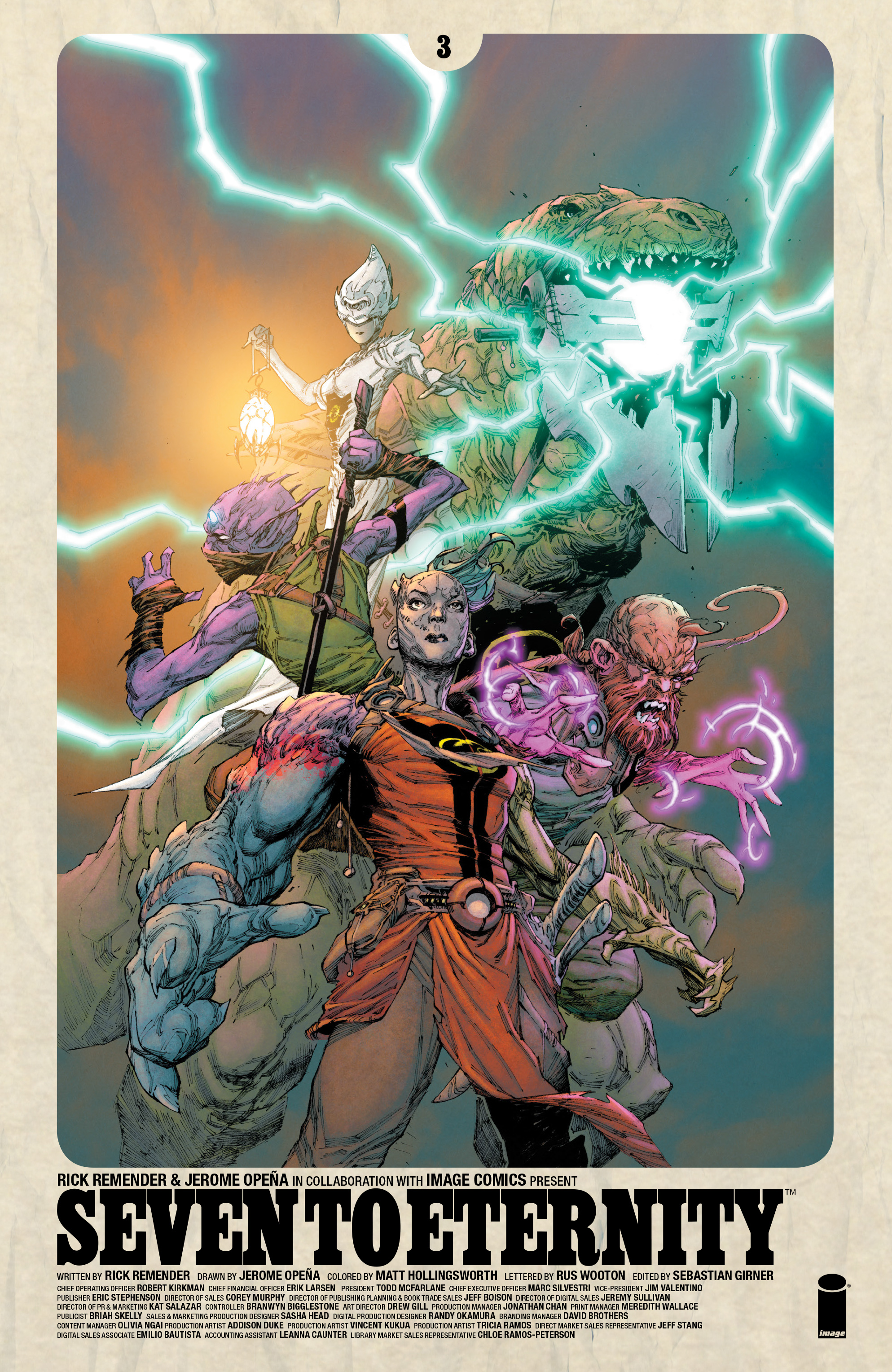 Read online Seven To Eternity comic -  Issue #3 - 1