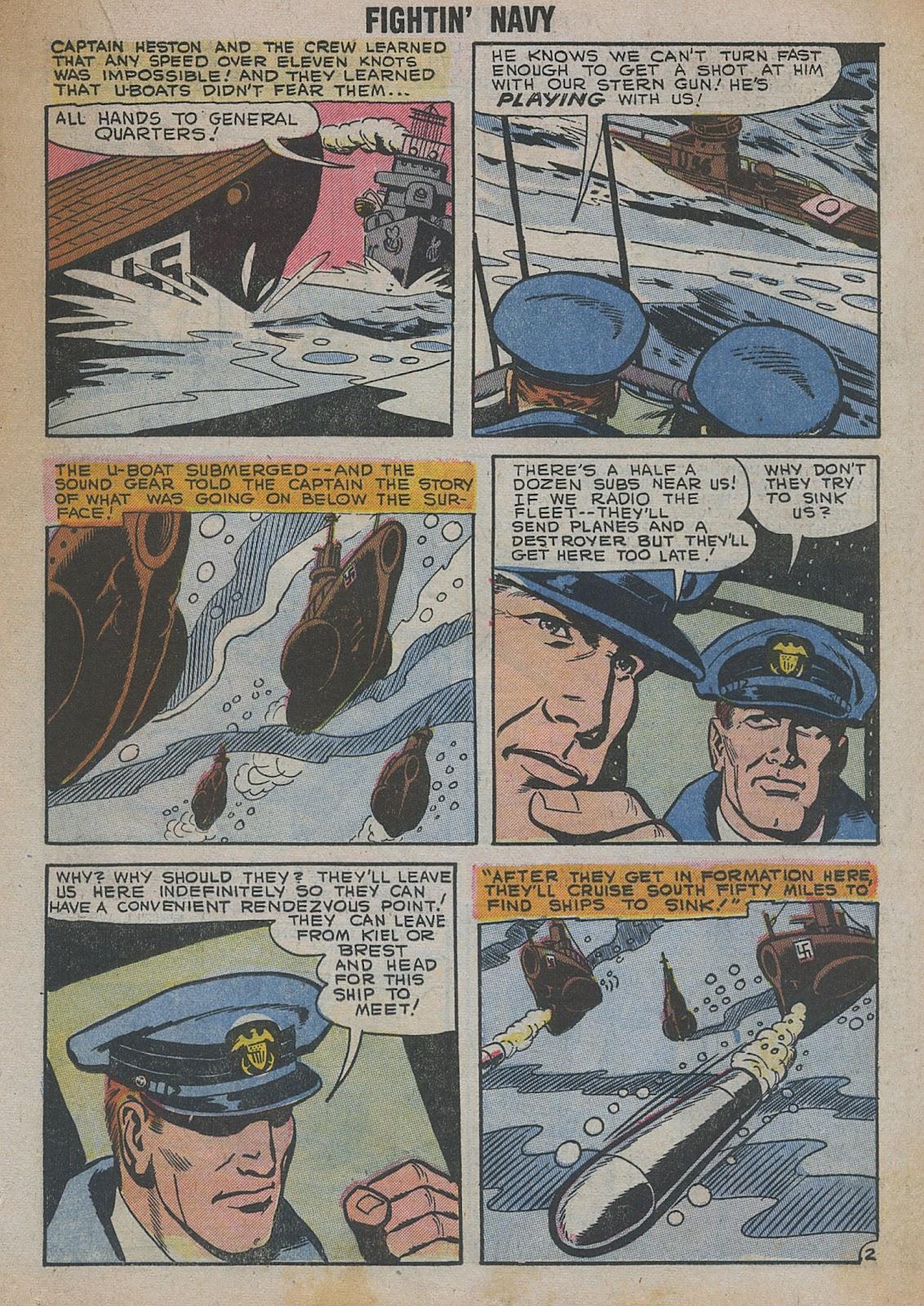 Read online Fightin' Navy comic -  Issue #82 - 35