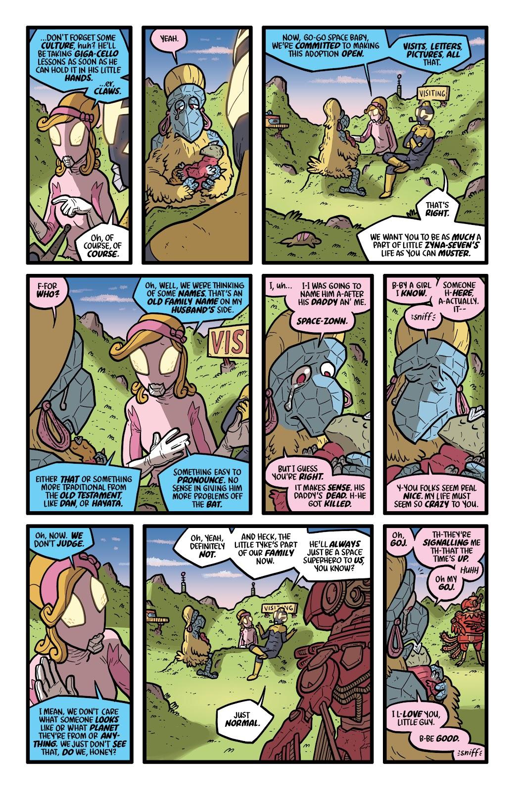 Read online Kaijumax: Season Four comic -  Issue #4 - 4
