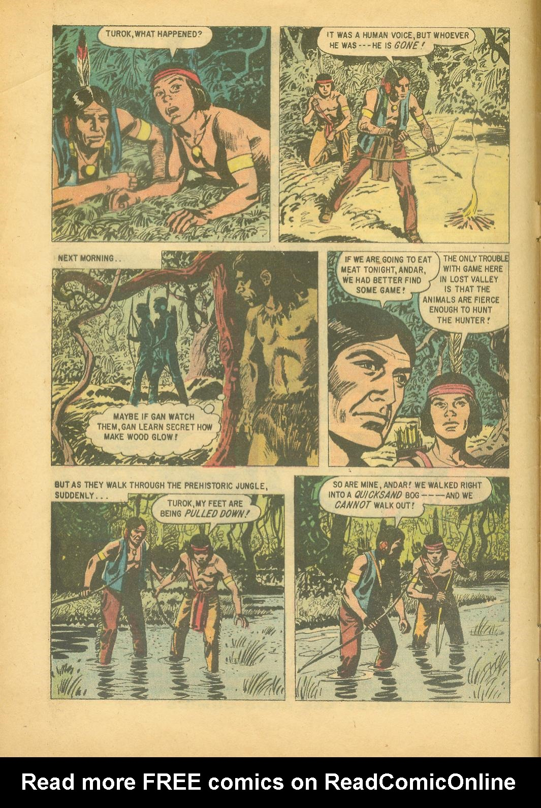 Read online Turok, Son of Stone comic -  Issue #18 - 4
