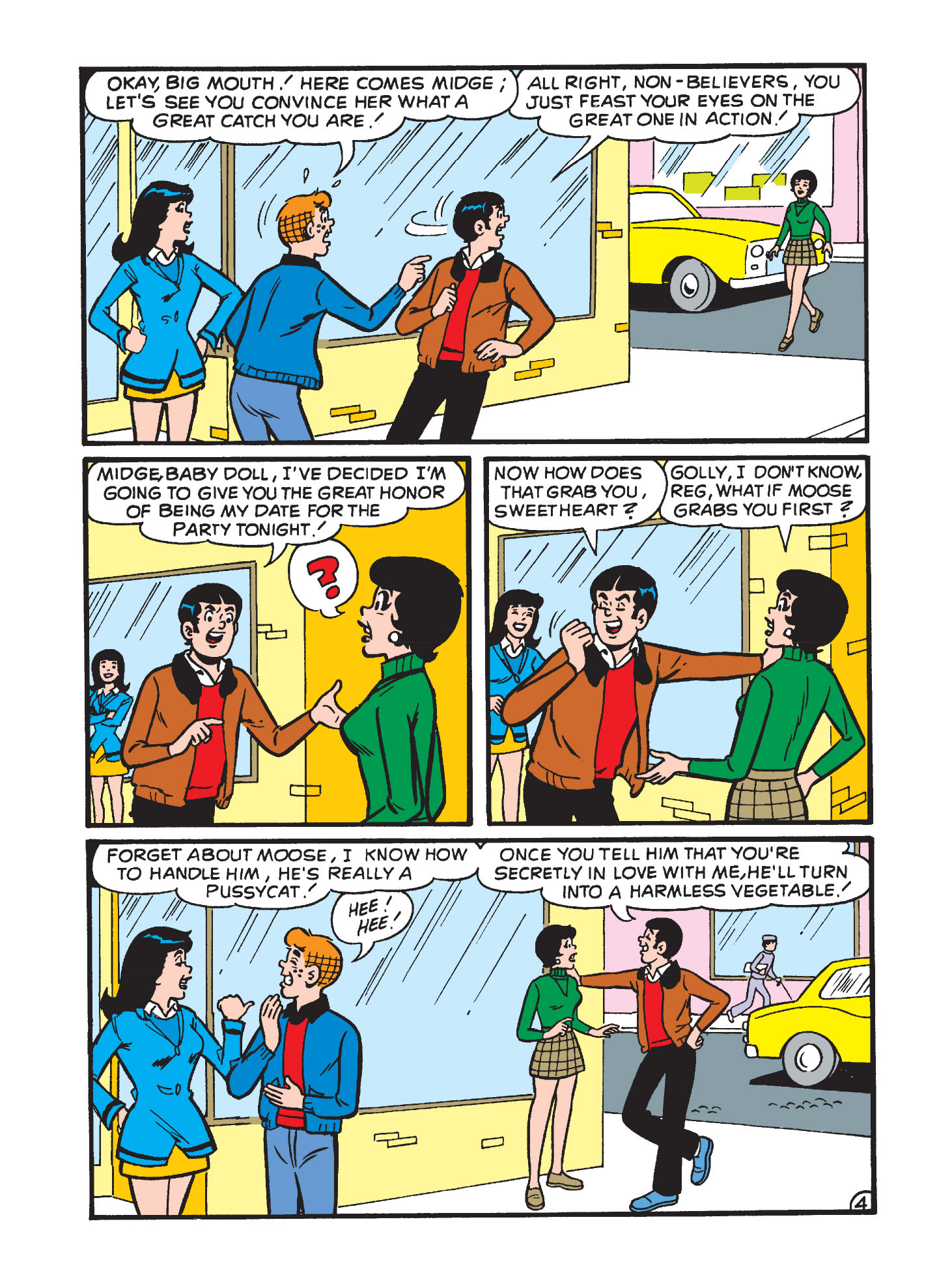 Read online Archie's Funhouse Double Digest comic -  Issue #3 - 124