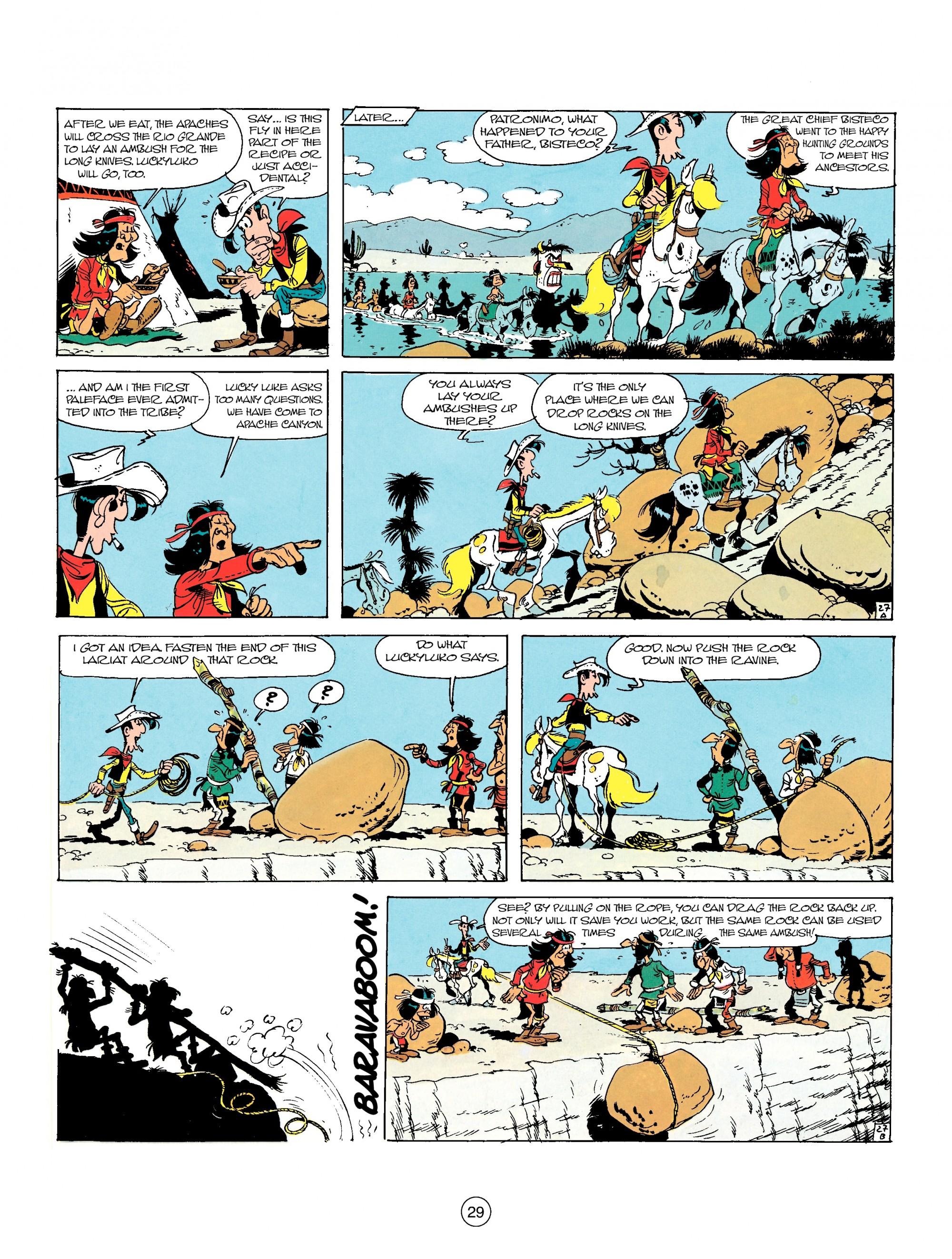 Read online A Lucky Luke Adventure comic -  Issue #17 - 29