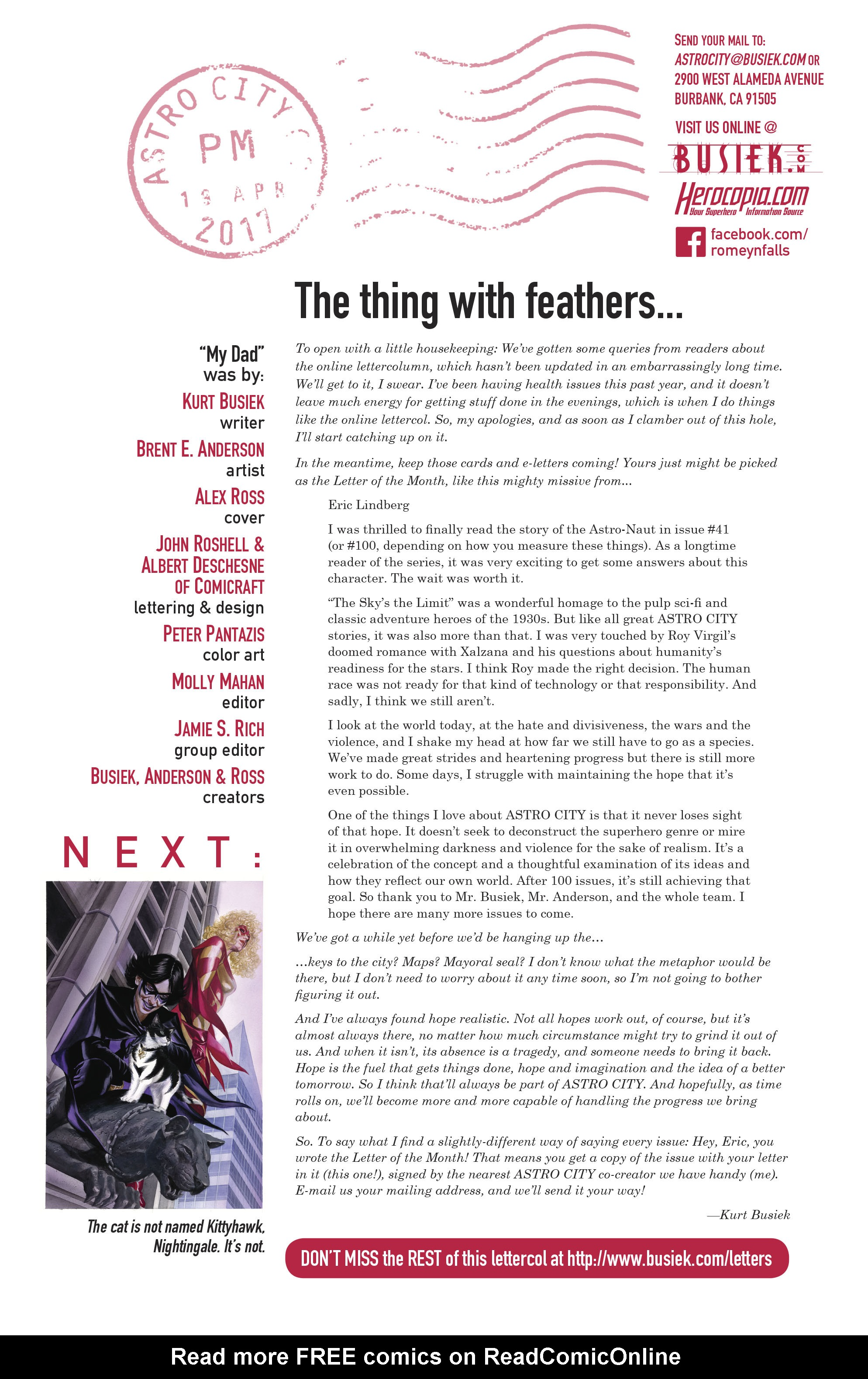 Read online Astro City comic -  Issue #43 - 26