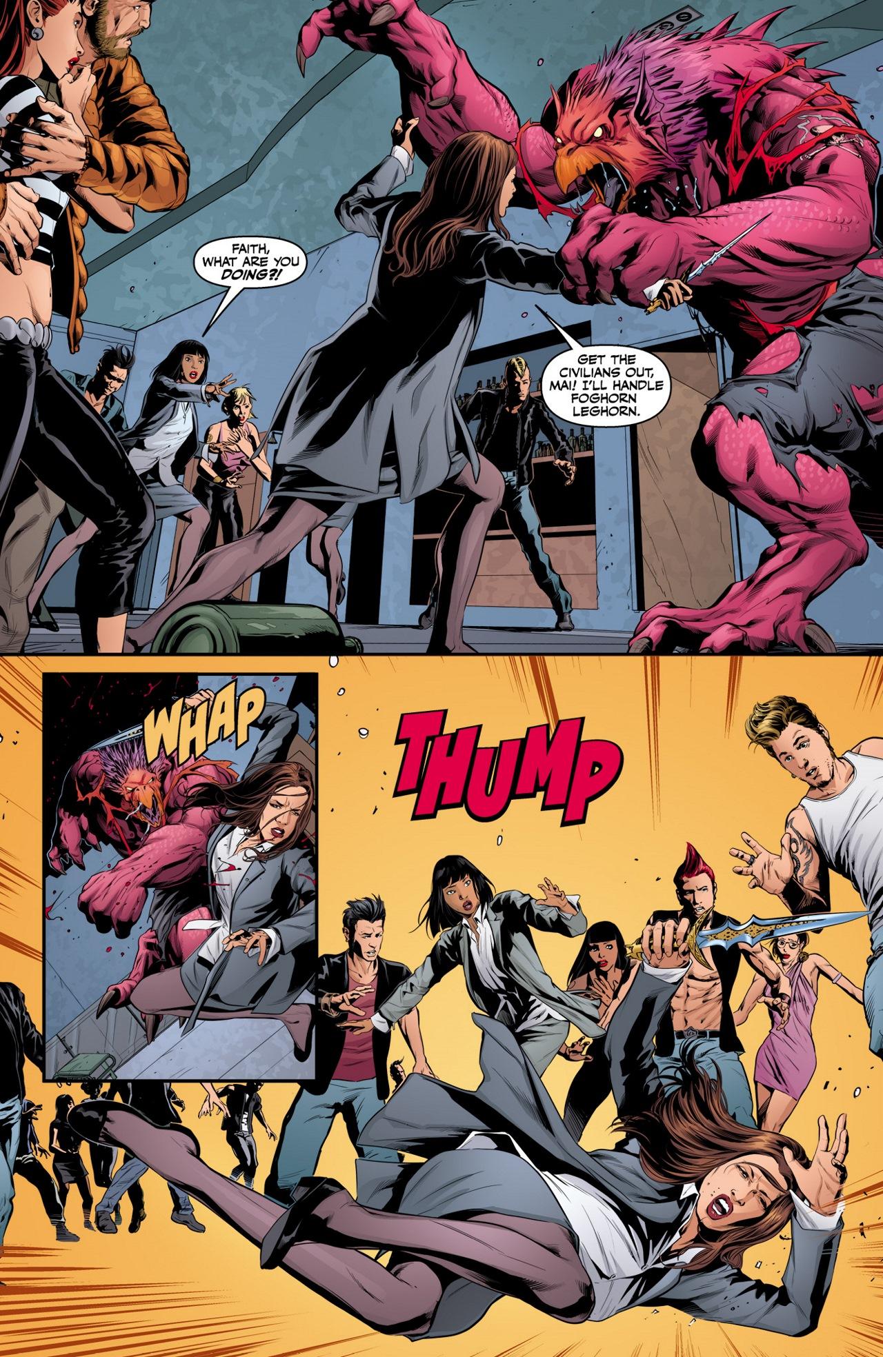 Read online Angel & Faith Season 10 comic -  Issue #3 - 4