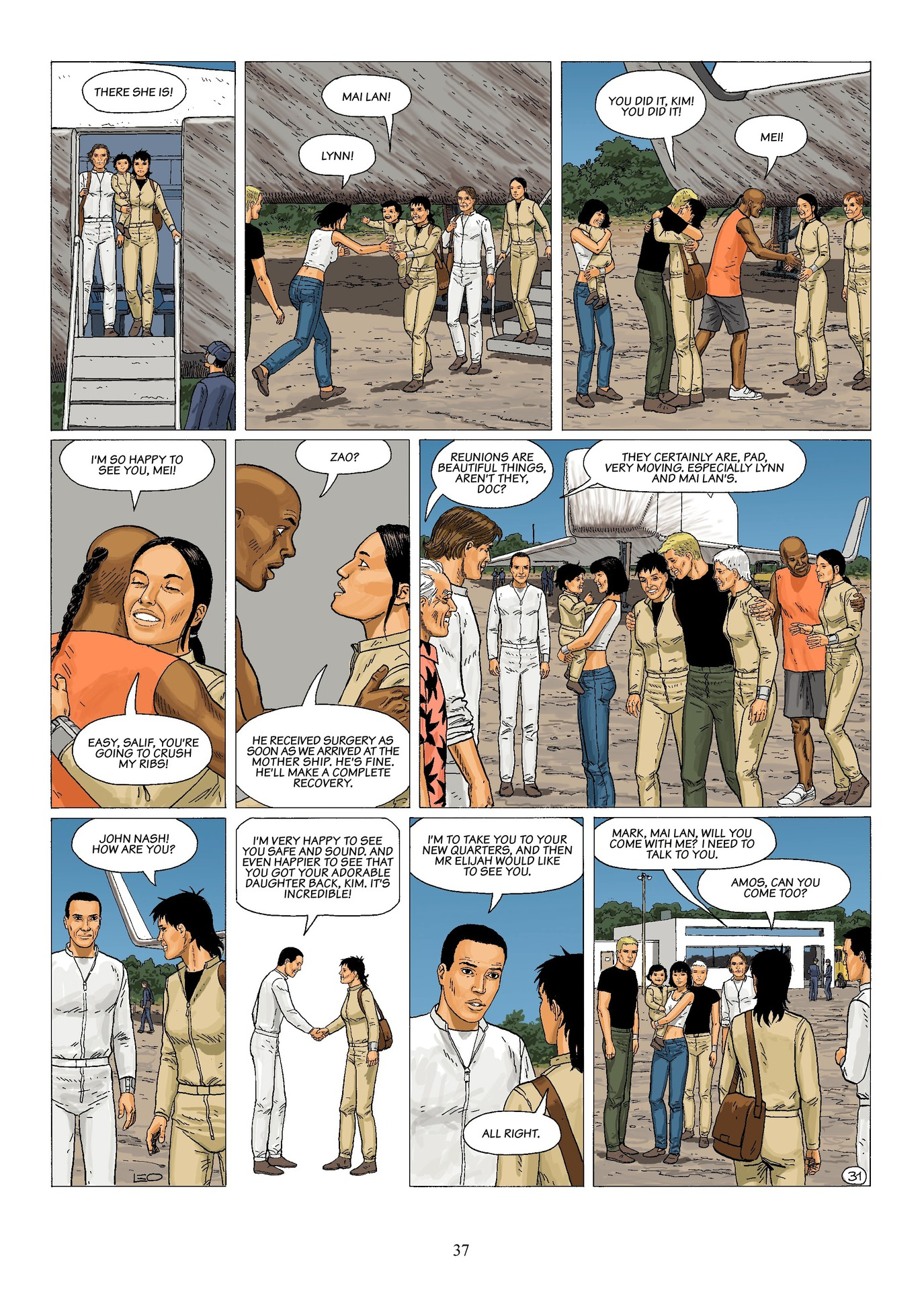 Read online Antares comic -  Issue #6 - 39