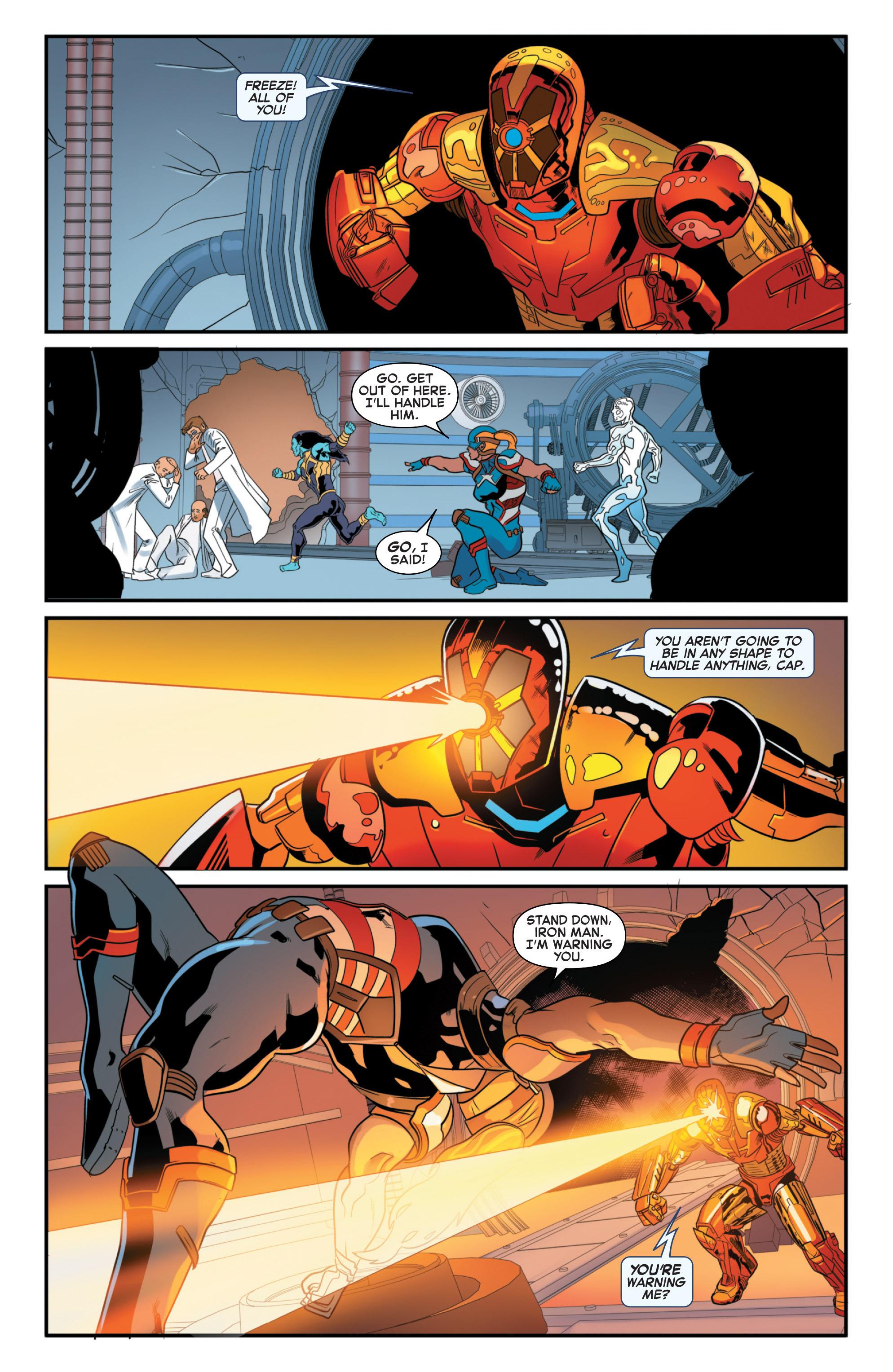 Read online Secret Wars 2099 comic -  Issue #4 - 17