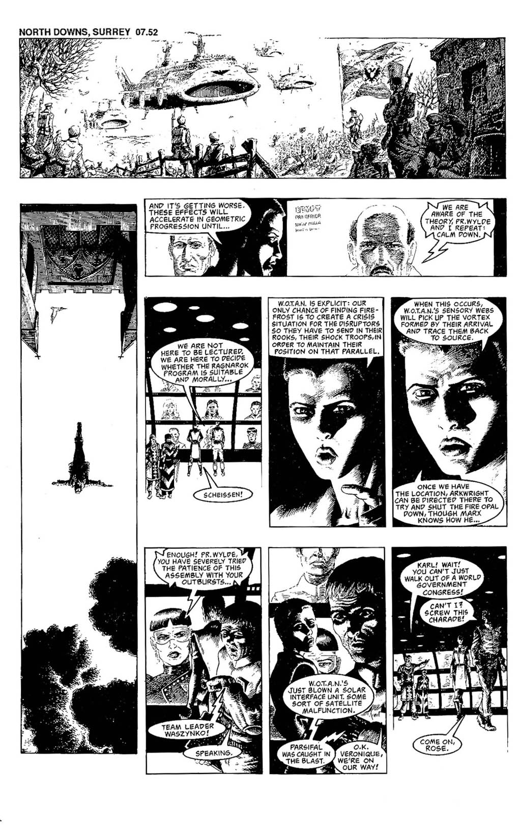 Read online The Adventures of Luther Arkwright comic -  Issue #7 - 22