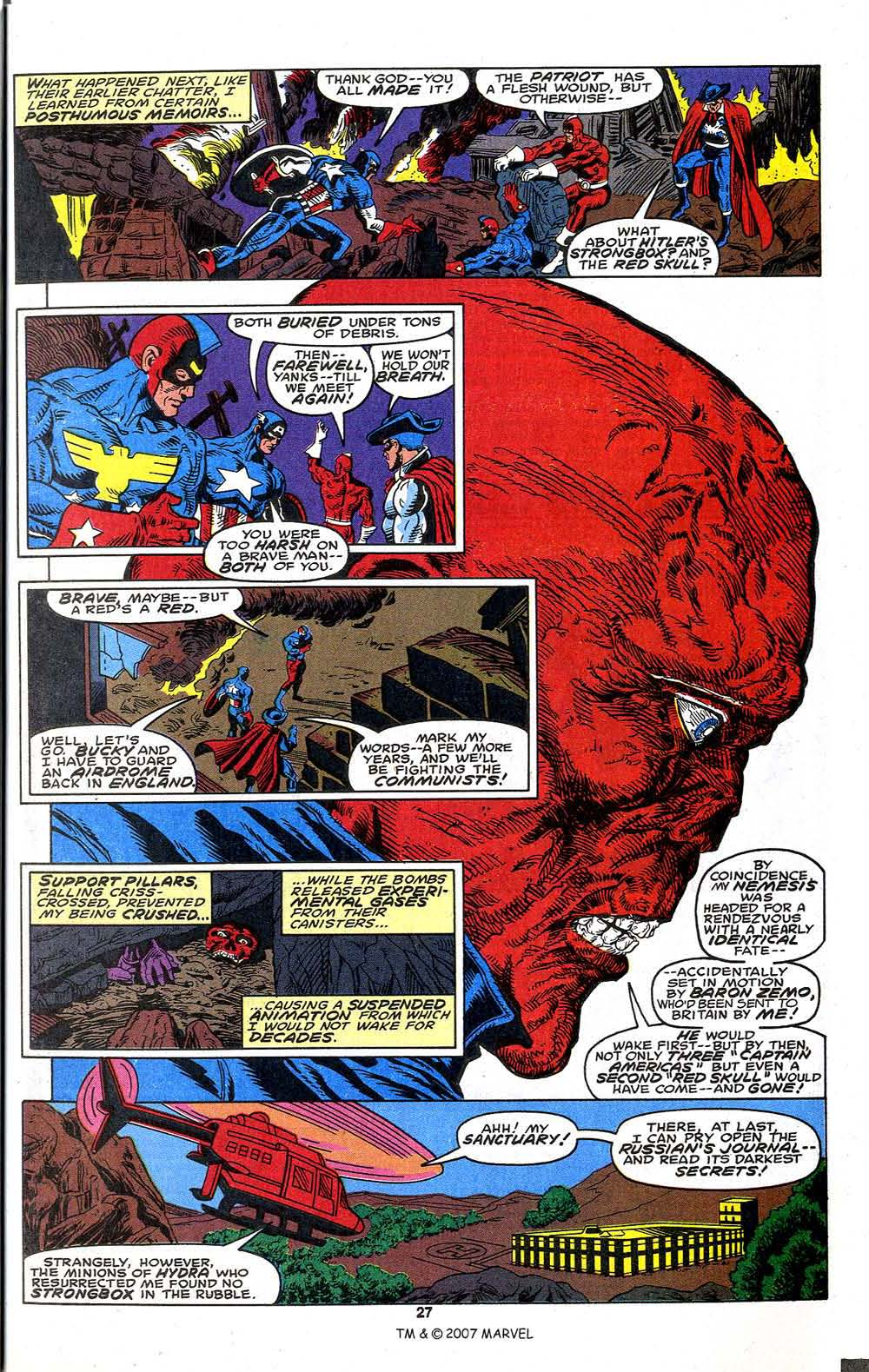 Read online Captain America (1968) comic -  Issue # _Annual 13 - 29