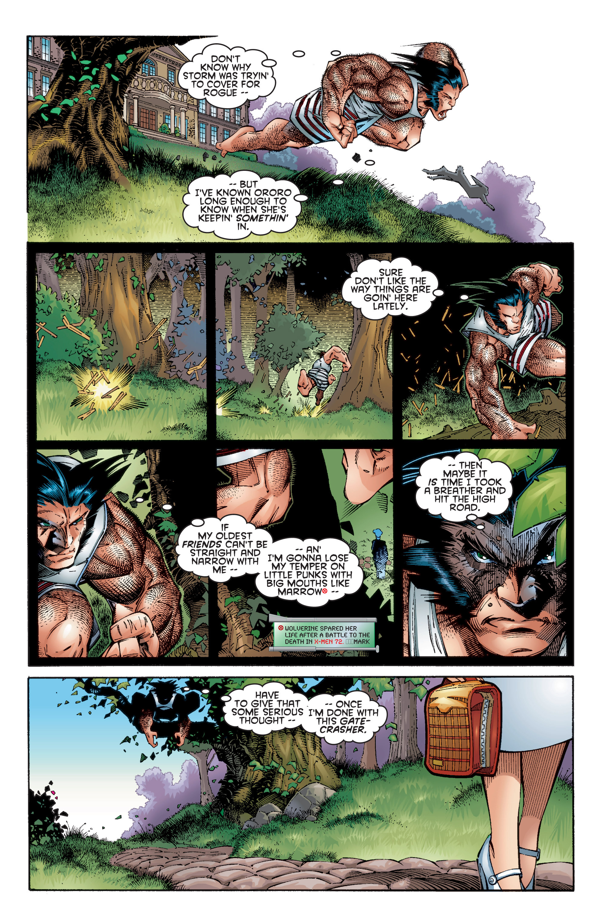 Read online Uncanny X-Men (1963) comic -  Issue #353 - 12