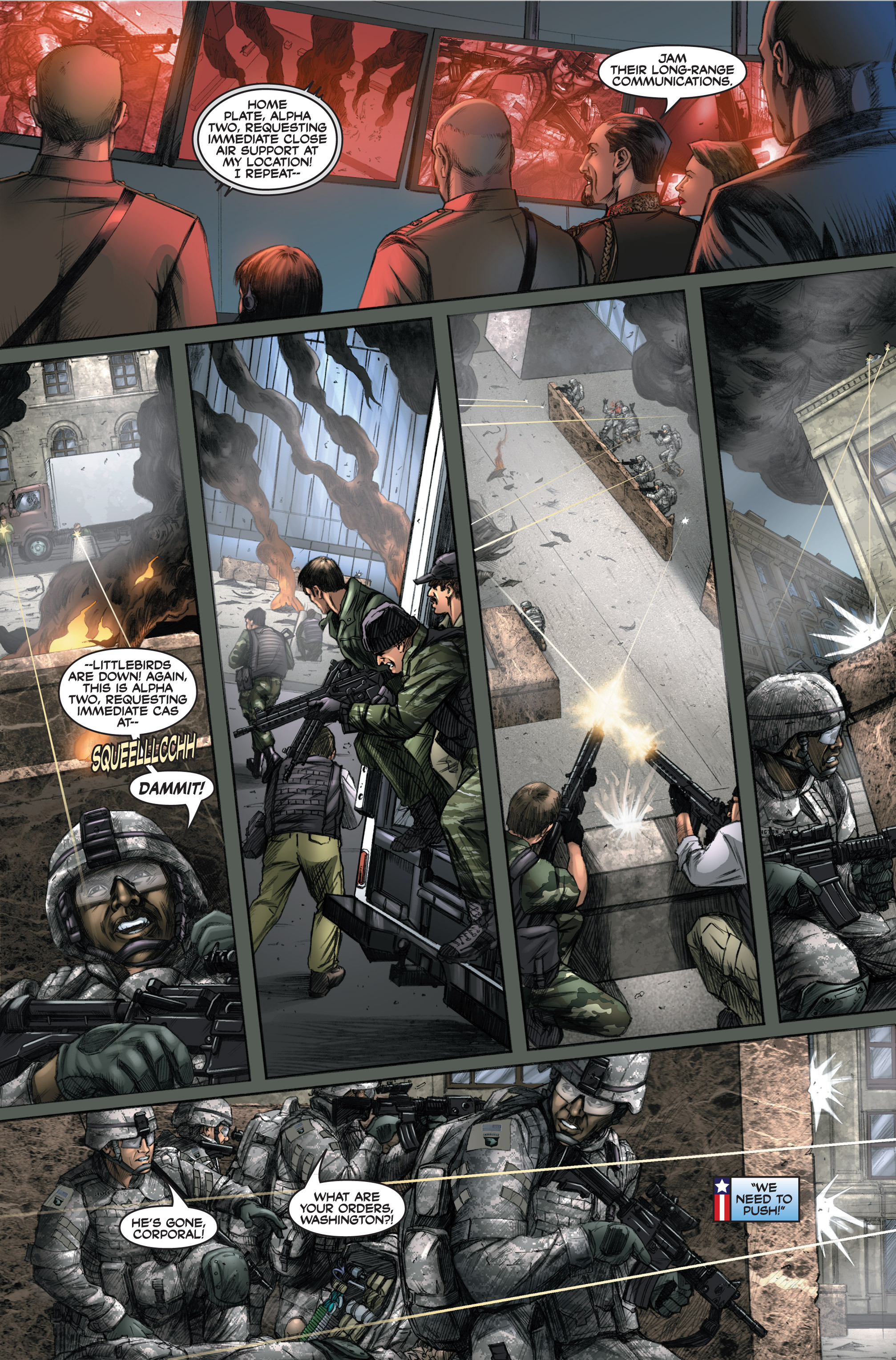 Read online America's Army comic -  Issue #6 - 18