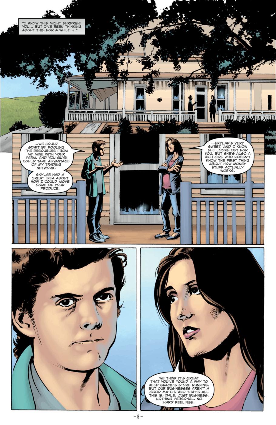 Read online Jericho Season 4 comic -  Issue #2 - 11