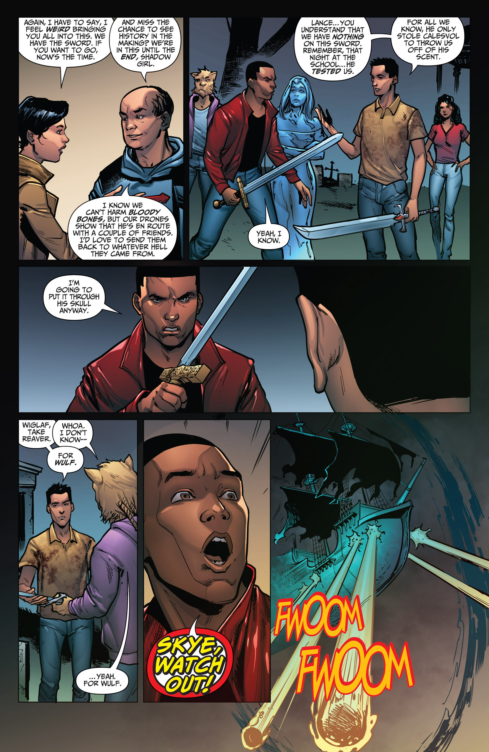 Read online Grimm Fairy Tales: Arcane Acre comic -  Issue # TPB 4 - 152