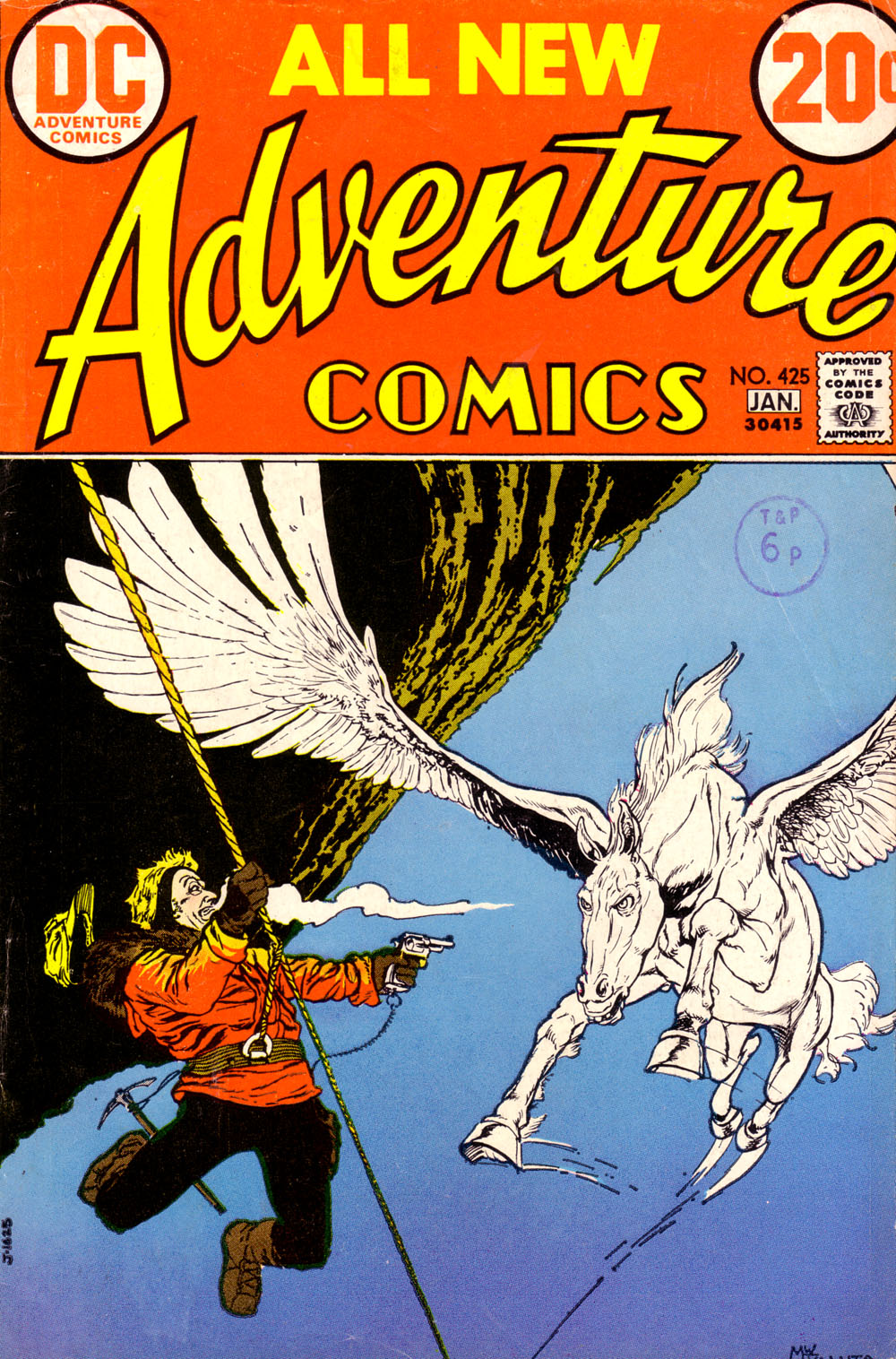 Read online Adventure Comics (1938) comic -  Issue #425 - 1