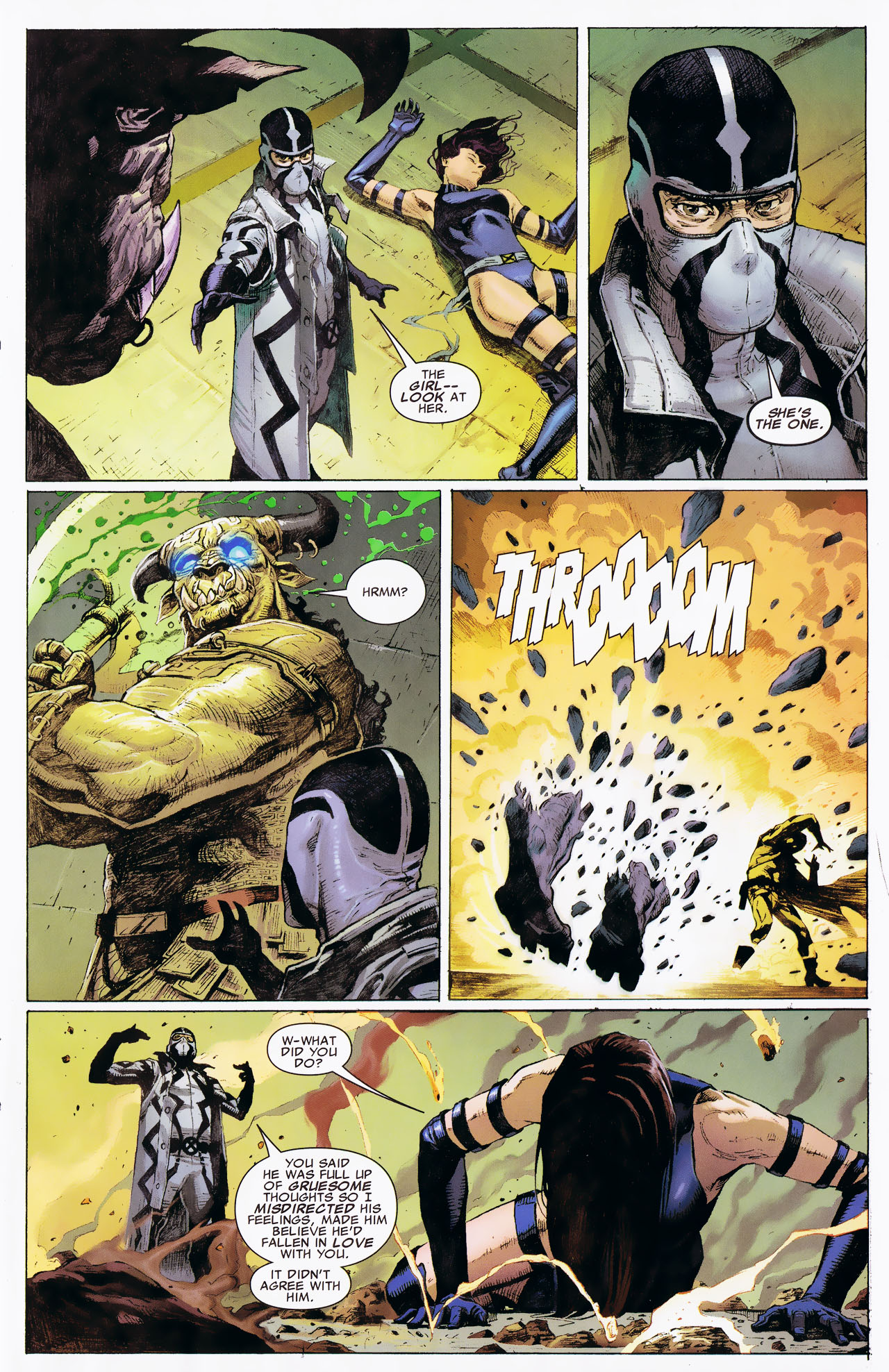 Read online Uncanny X-Force: The Apocalypse Solution comic -  Issue # Full - 21