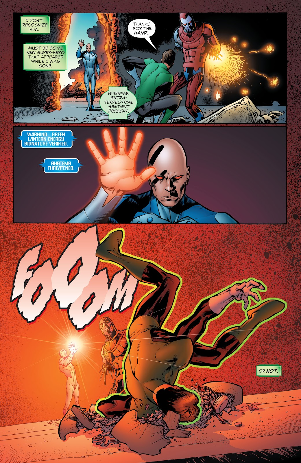 Read online Green Lantern by Geoff Johns comic -  Issue # TPB 1 (Part 4) - 43