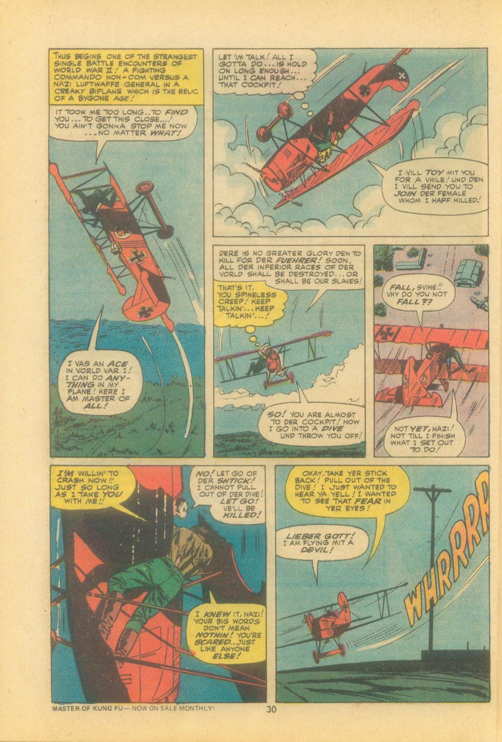 Read online Sgt. Fury comic -  Issue #121 - 32