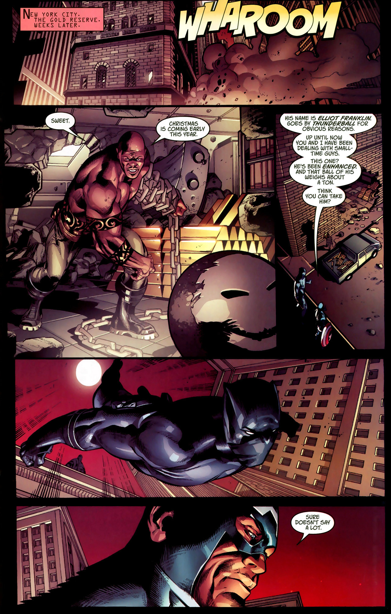 Read online Ultimate Captain America (2008) comic -  Issue # Full - 18