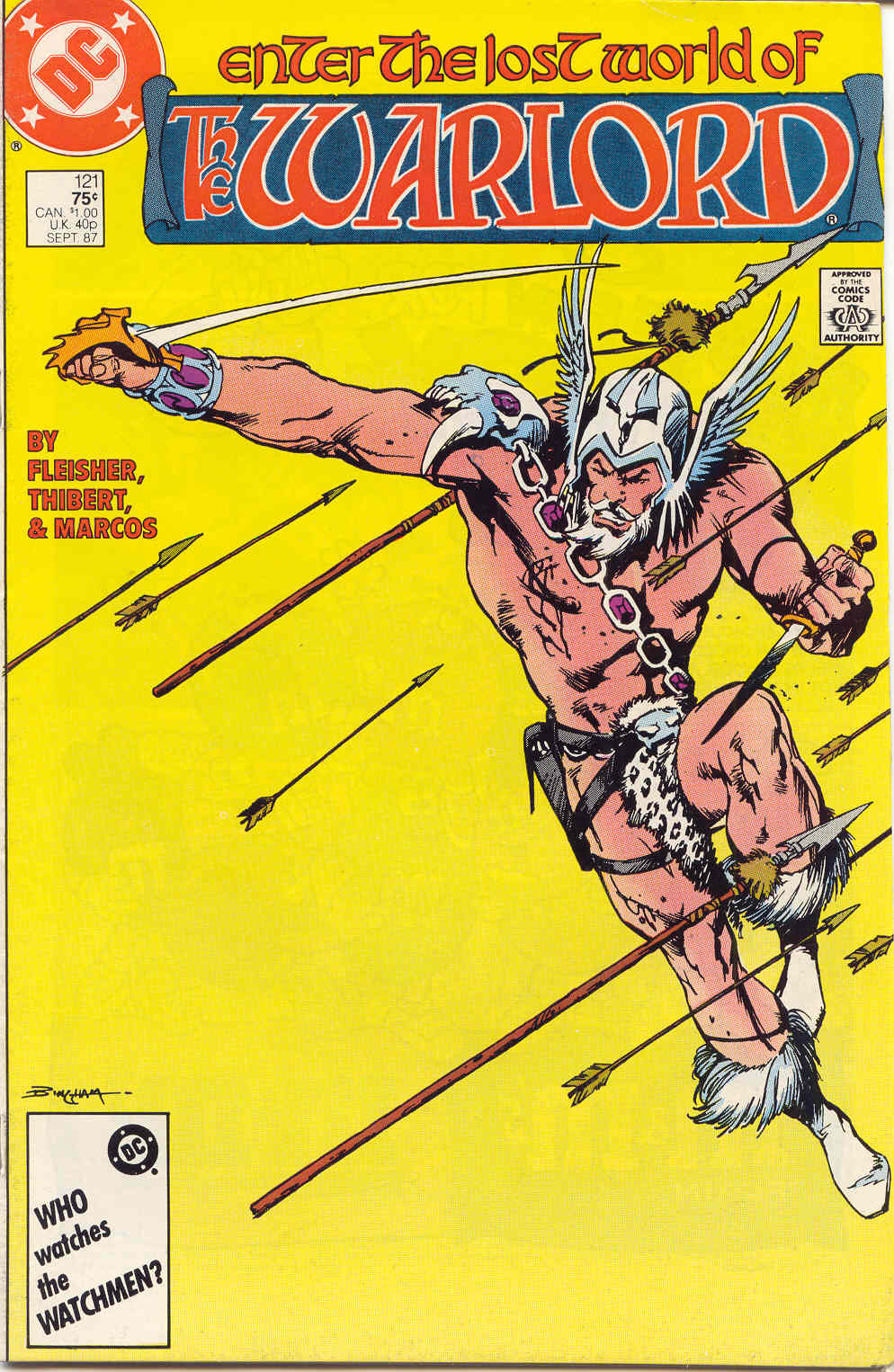 Warlord (1976) issue 121 - Page 1