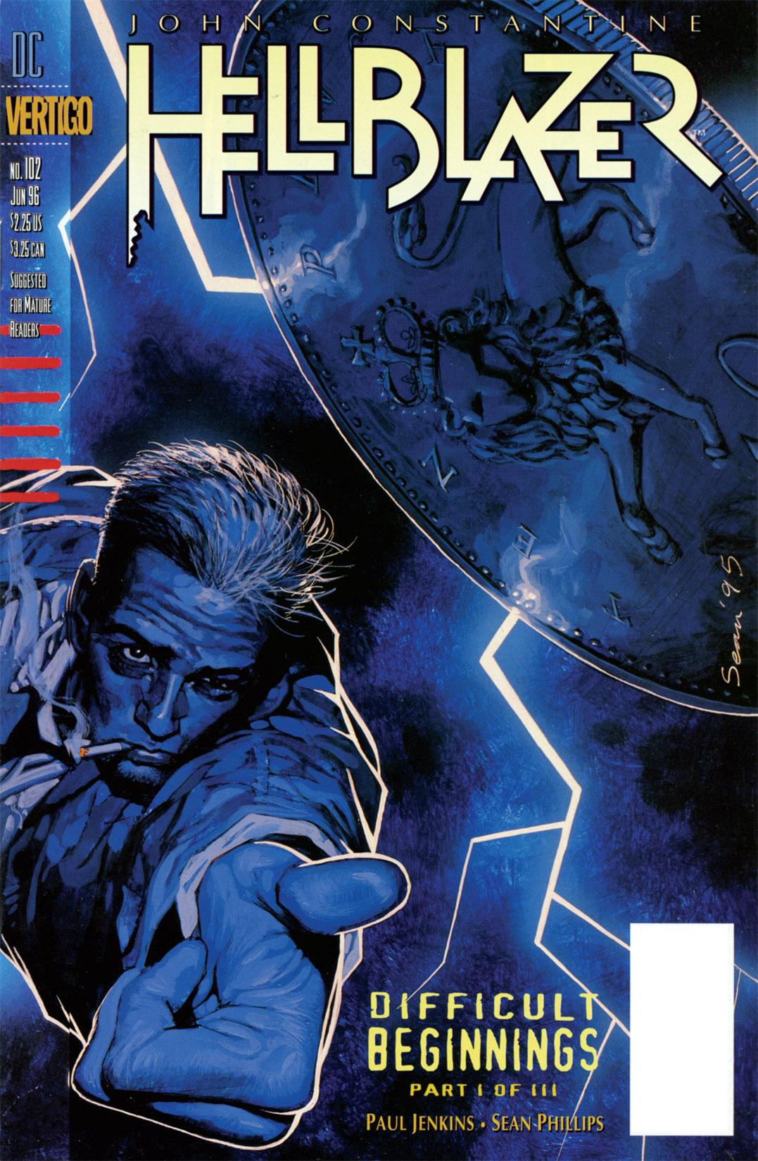 Hellblazer issue 102 - Page 1