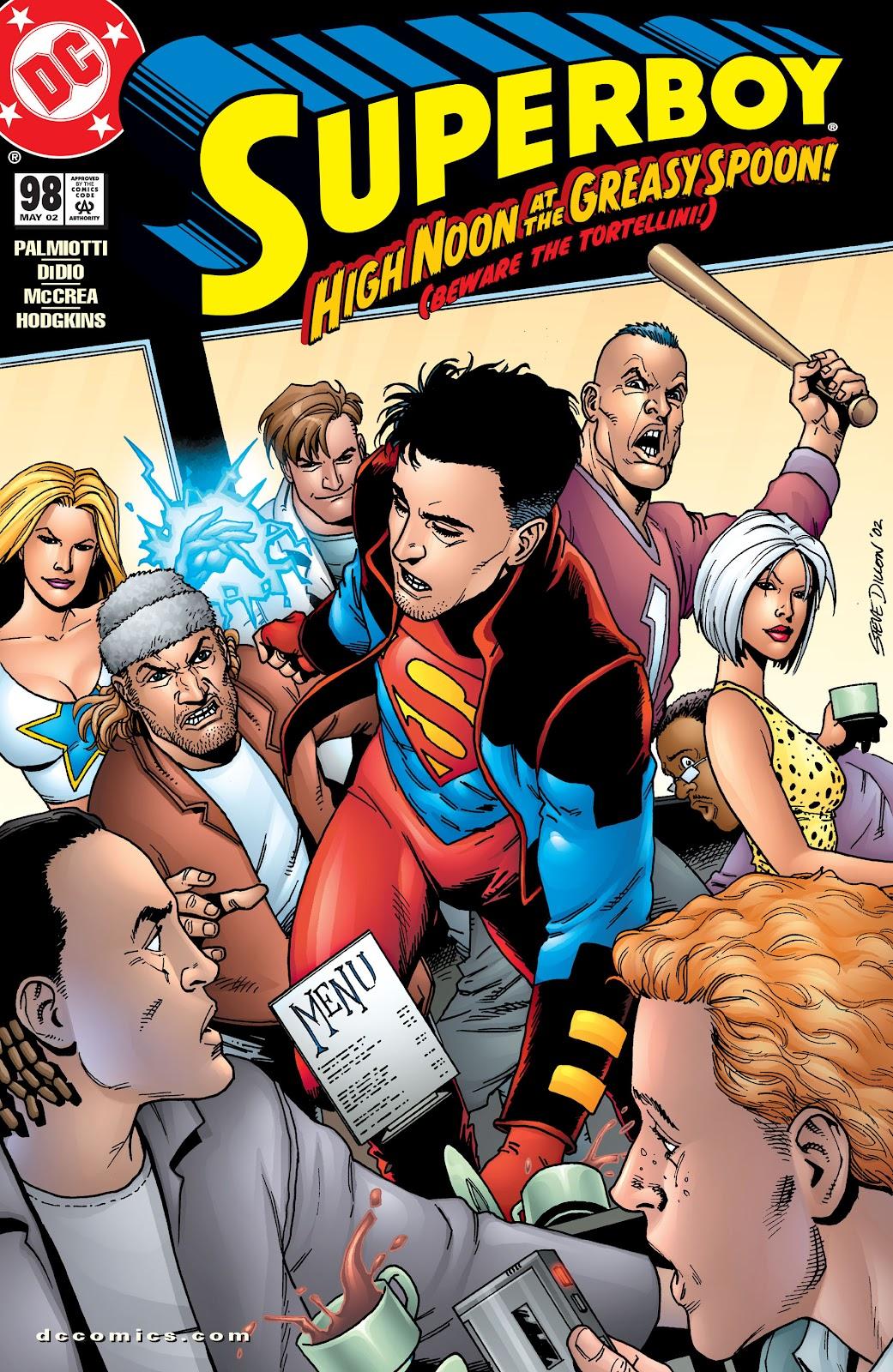 Superboy (1994) 98 Page 1