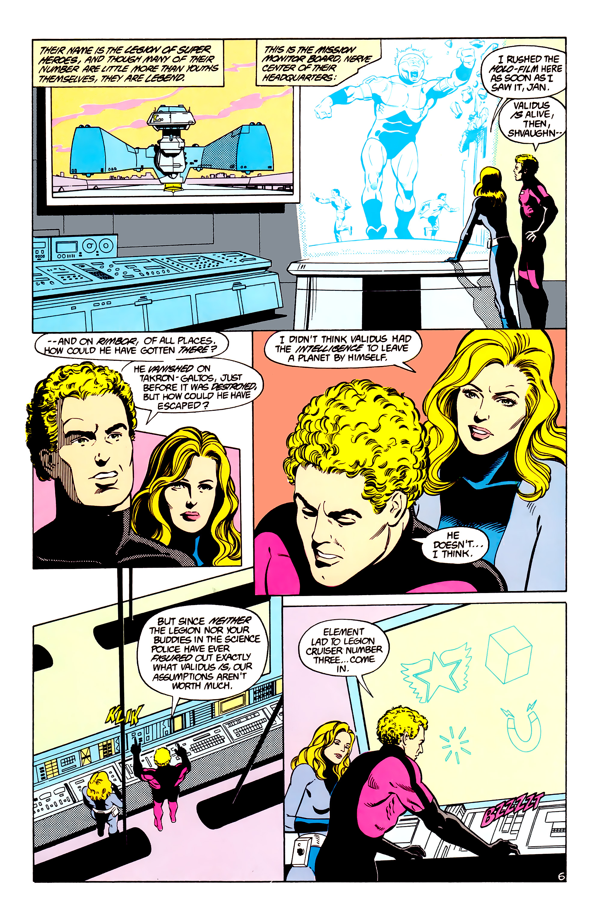 Legion of Super-Heroes (1984) _Annual_2 Page 7
