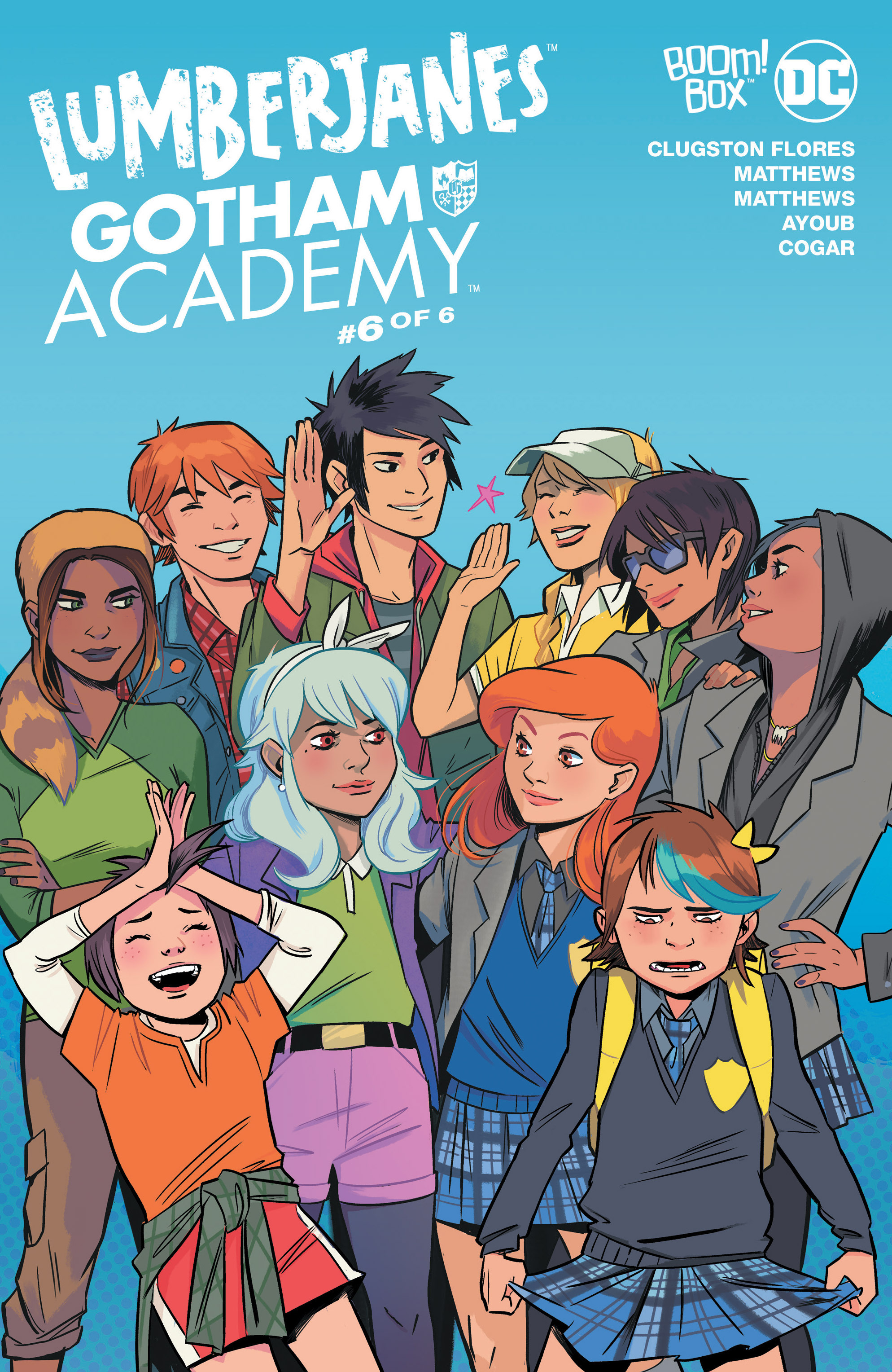 Lumberjanes/Gotham Academy 6 Page 1