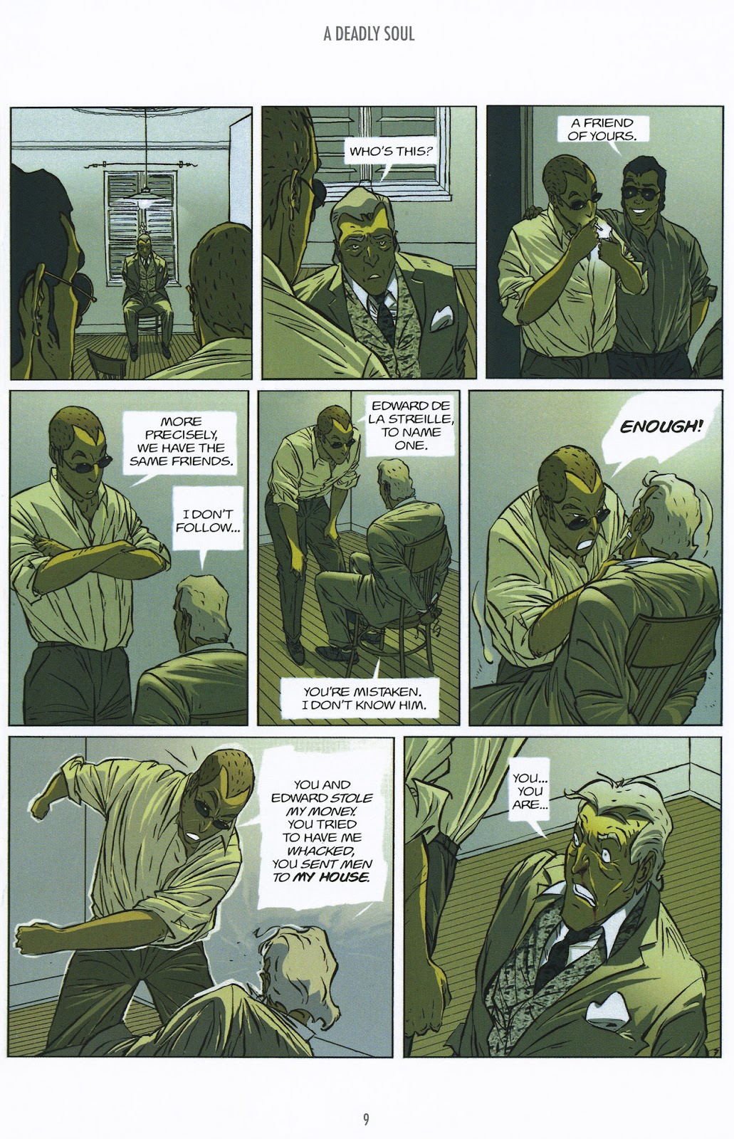 Read online The Killer comic -  Issue #9 - 9
