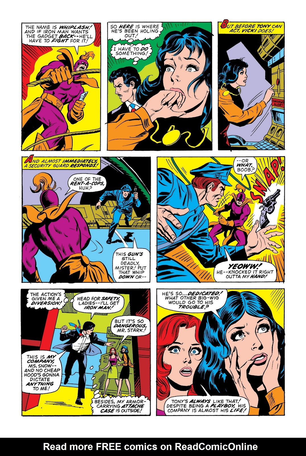 Read online Marvel Masterworks: The Invincible Iron Man comic -  Issue # TPB 9 (Part 2) - 82