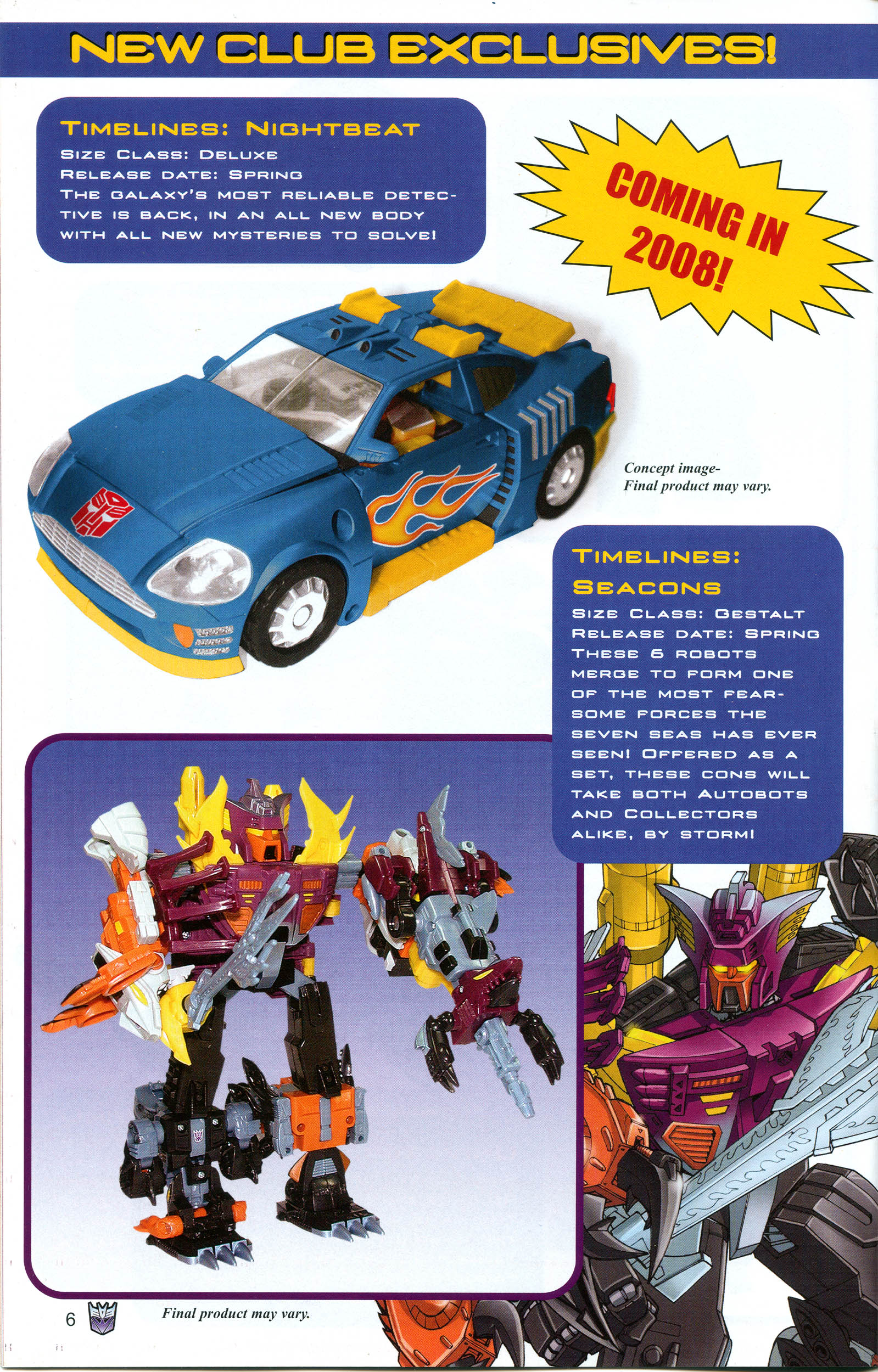 Read online Transformers: Collectors' Club comic -  Issue #19 - 6