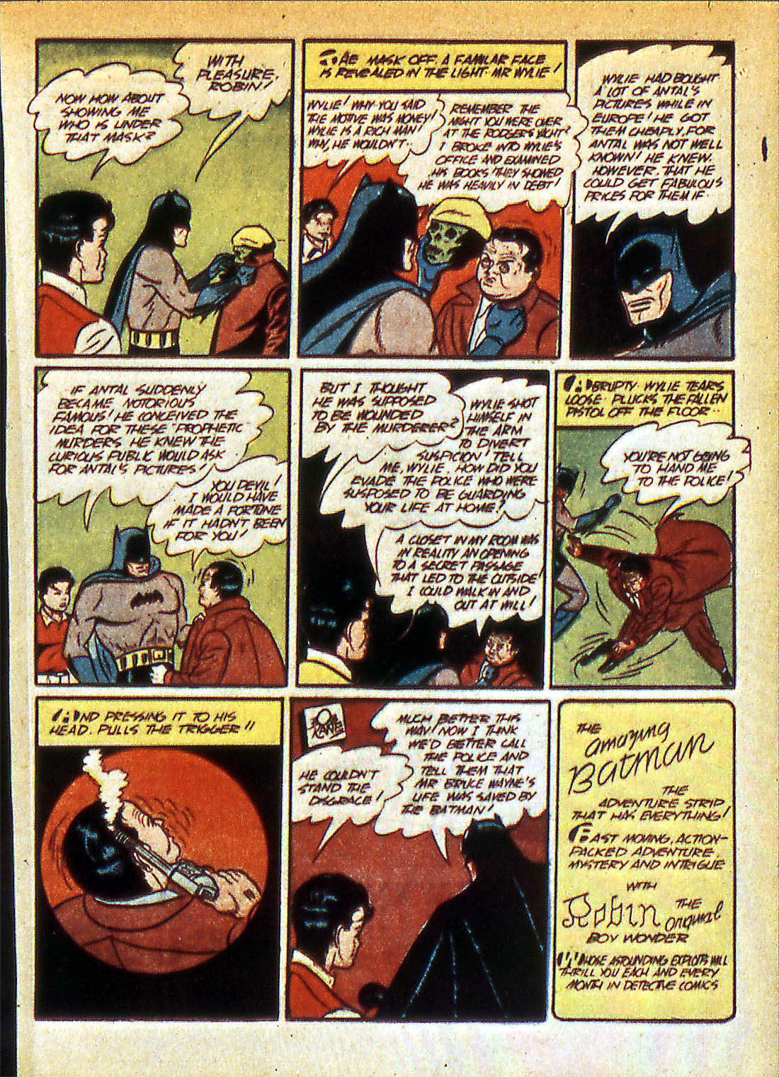 Read online Detective Comics (1937) comic -  Issue #42 - 15