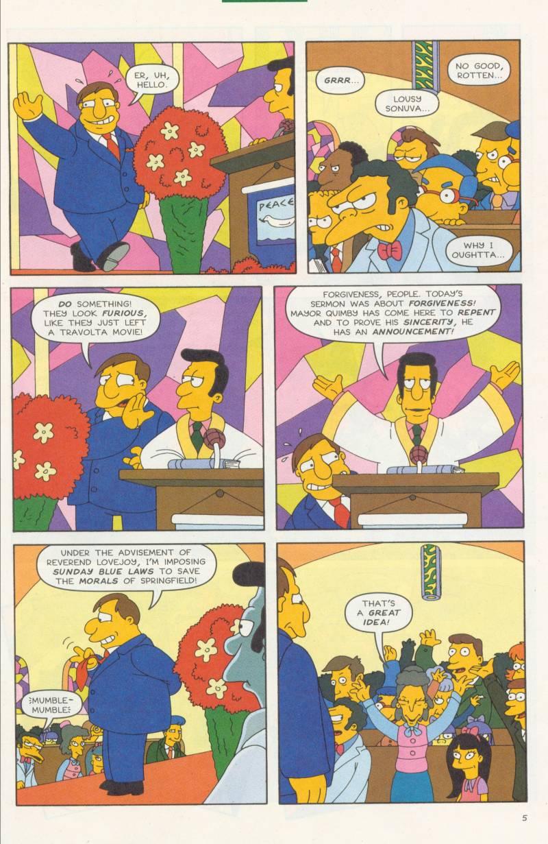 Read online Simpsons Comics comic -  Issue #58 - 6