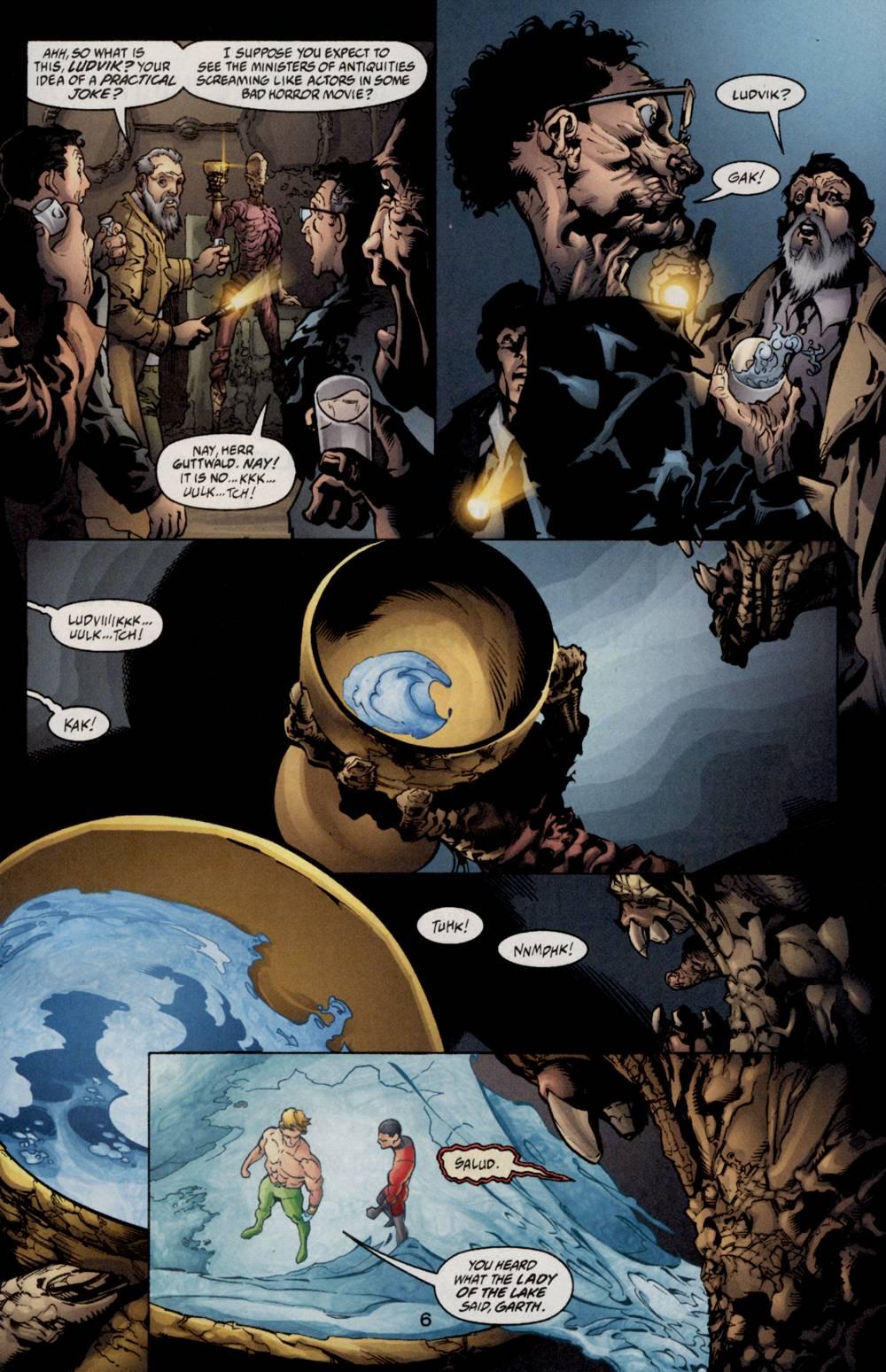 Read online Aquaman (2003) comic -  Issue #5 - 8
