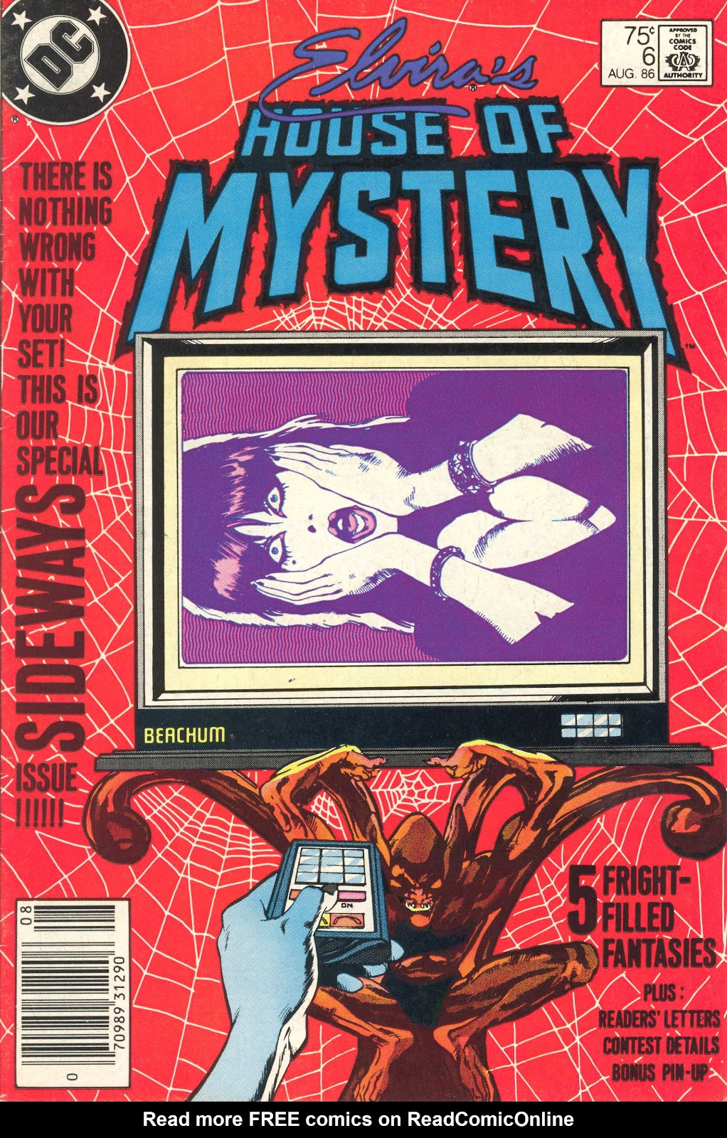 Elvira's House of Mystery Issue #6 #7 - English 1