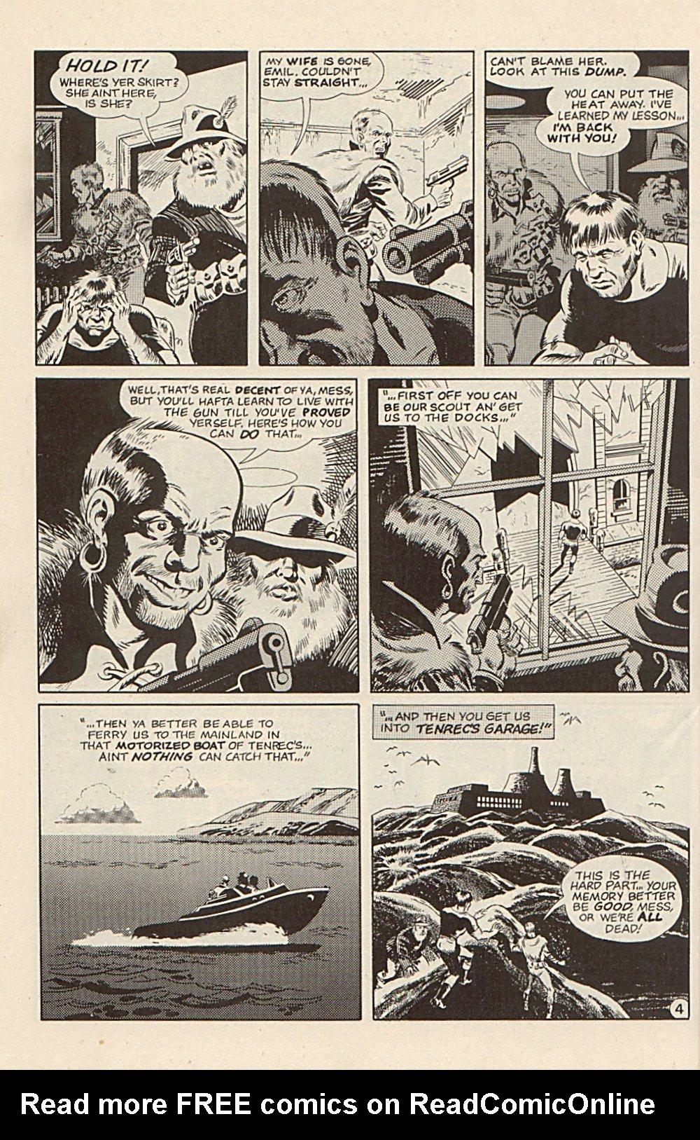 Read online Xenozoic Tales comic -  Issue #3 - 27