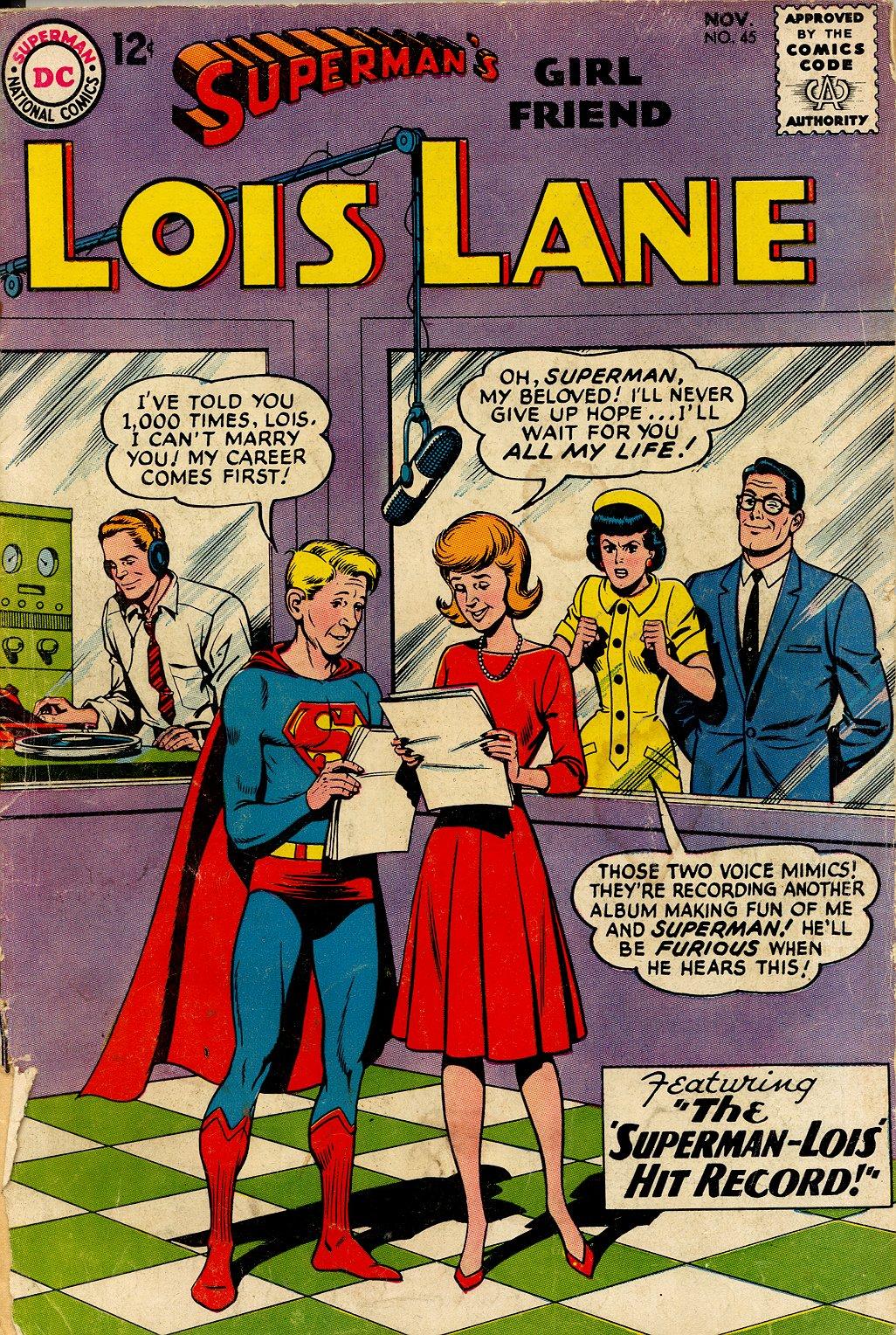Supermans Girl Friend, Lois Lane 45 Page 1