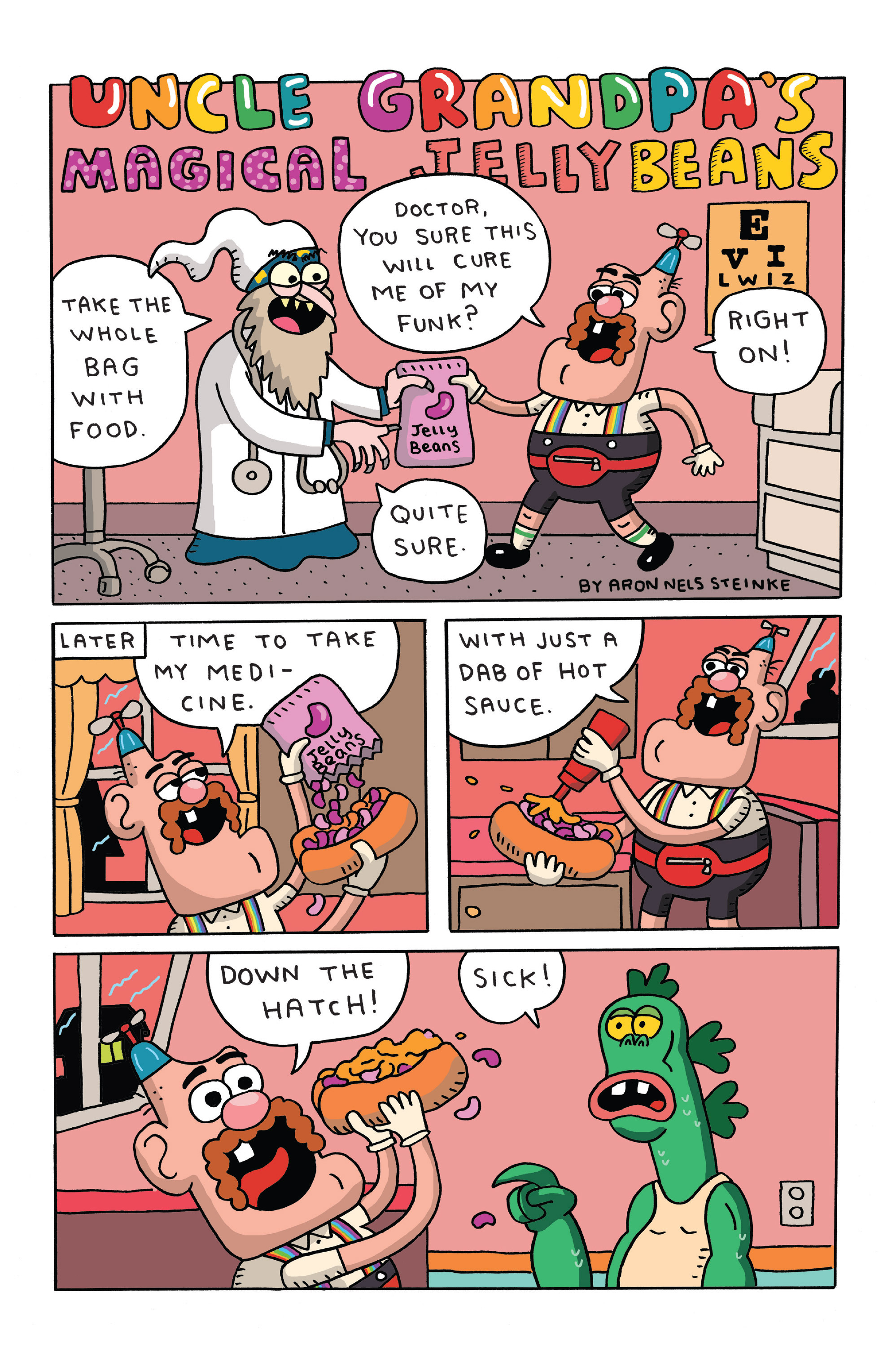 Read online Uncle Grandpa comic -  Issue #4 - 4