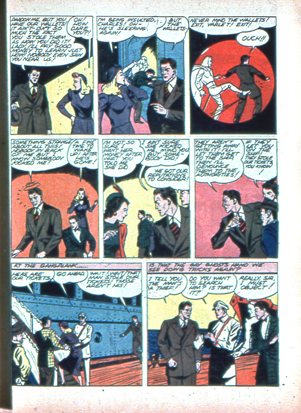 Read online Sensation (Mystery) Comics comic -  Issue #2 - 37