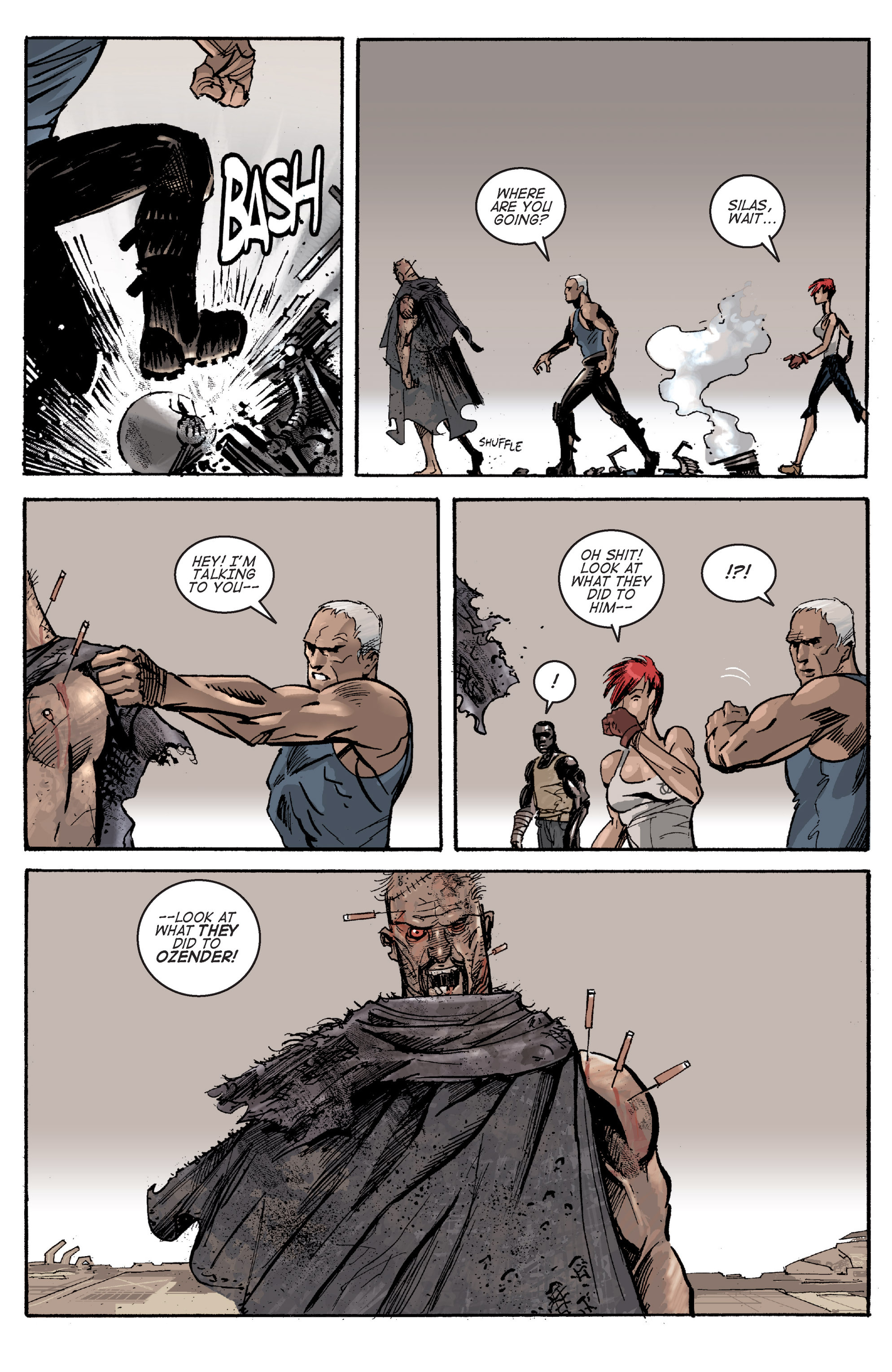 Read online Planetoid comic -  Issue # TPB - 104