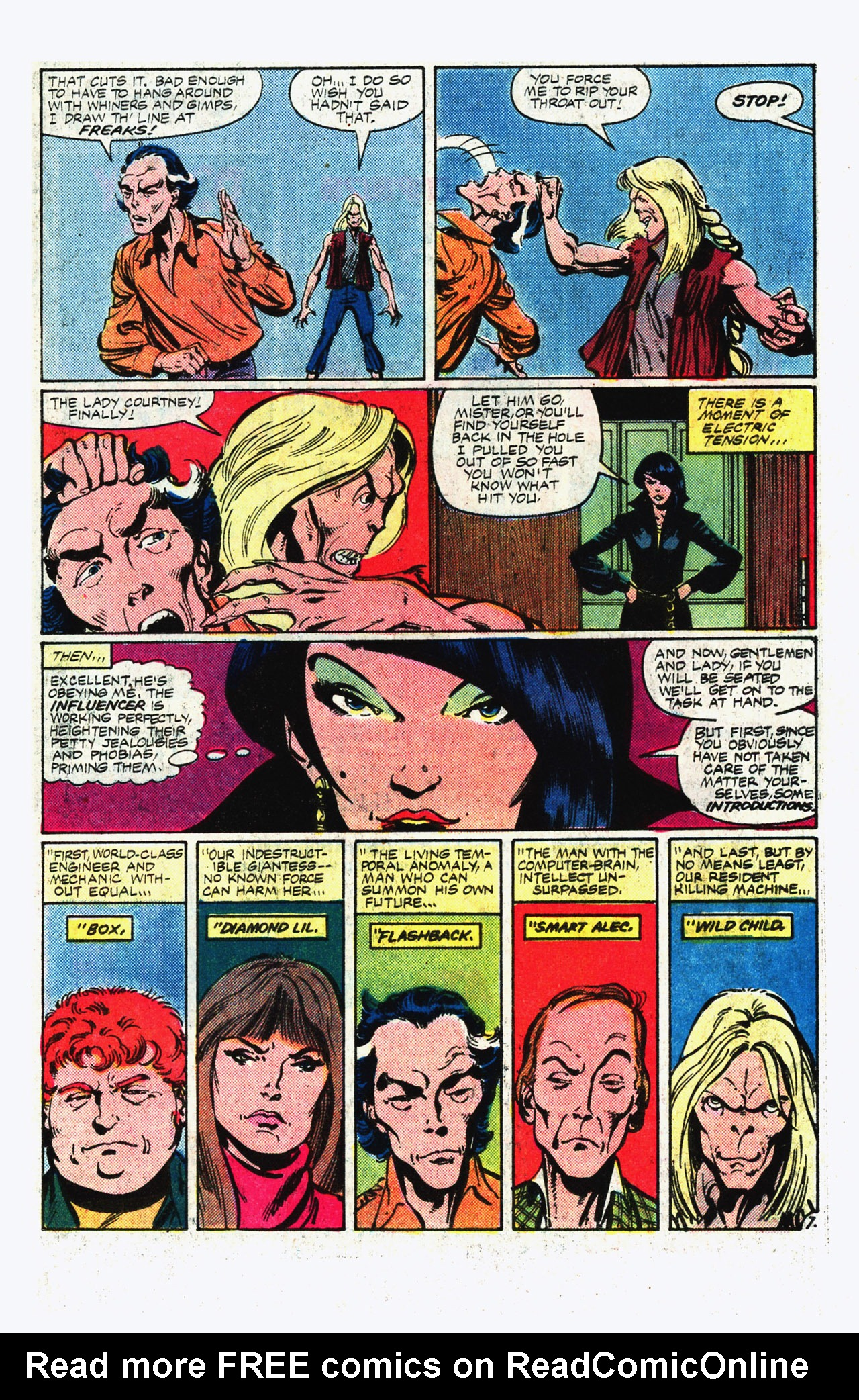 Read online Alpha Flight (1983) comic -  Issue #11 - 8