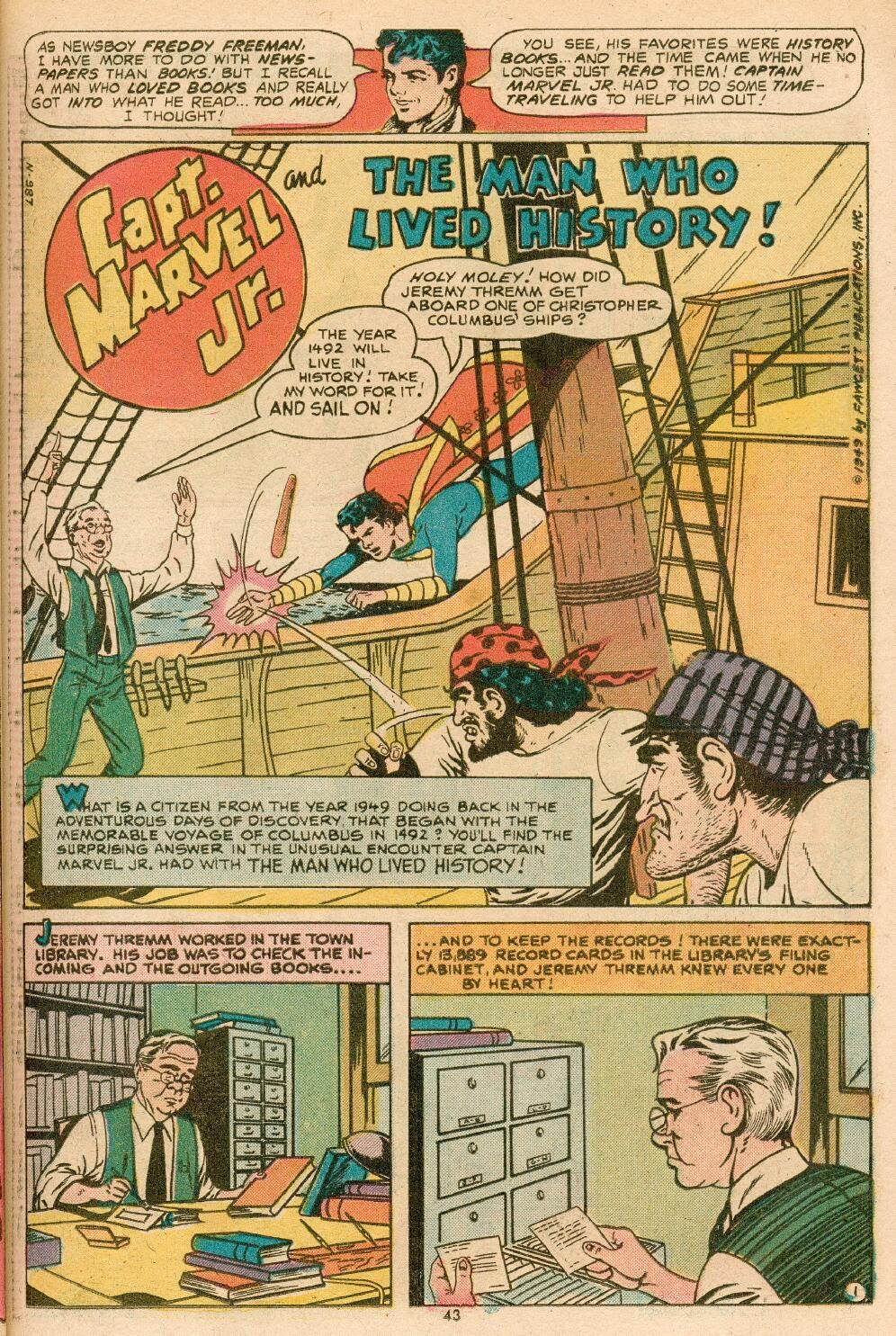 Captain Marvel, Jr. issue 83 - Page 2
