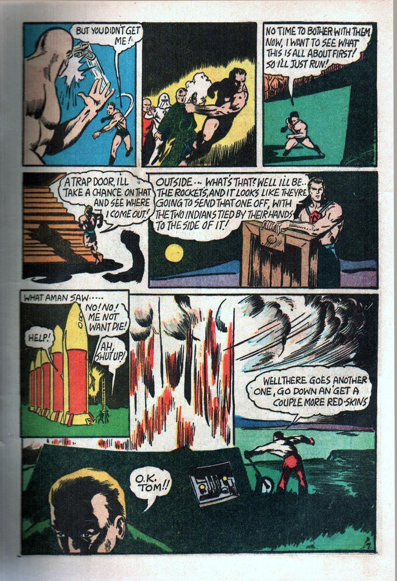 Read online Amazing Man Comics comic -  Issue #20 - 10