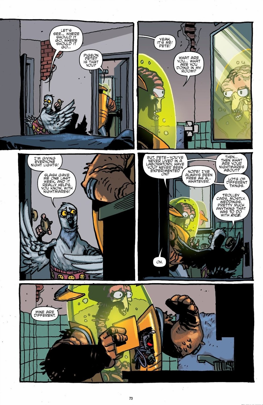 Read online Teenage Mutant Ninja Turtles: The IDW Collection comic -  Issue # TPB 6 (Part 1) - 72