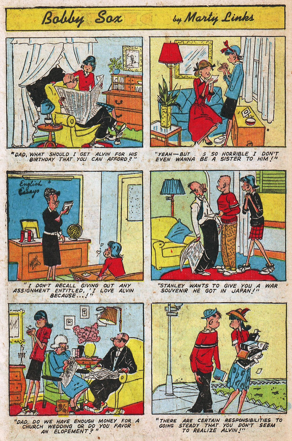 Read online Famous Funnies comic -  Issue #192 - 42