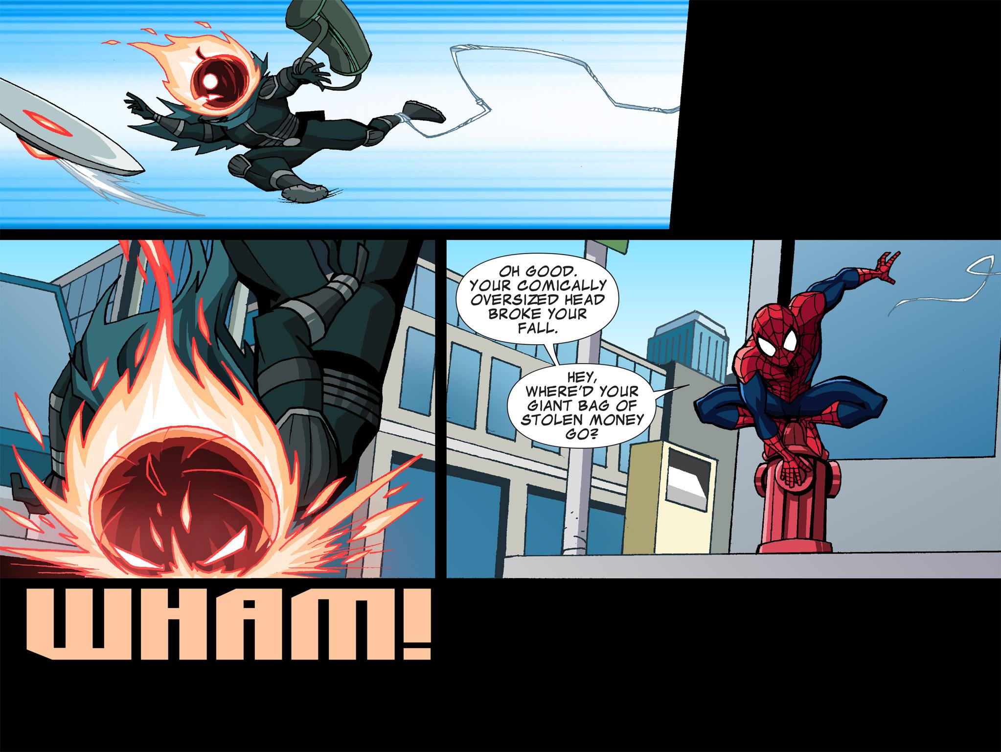 Read online Ultimate Spider-Man (Infinite Comics) (2015) comic -  Issue #1 - 11