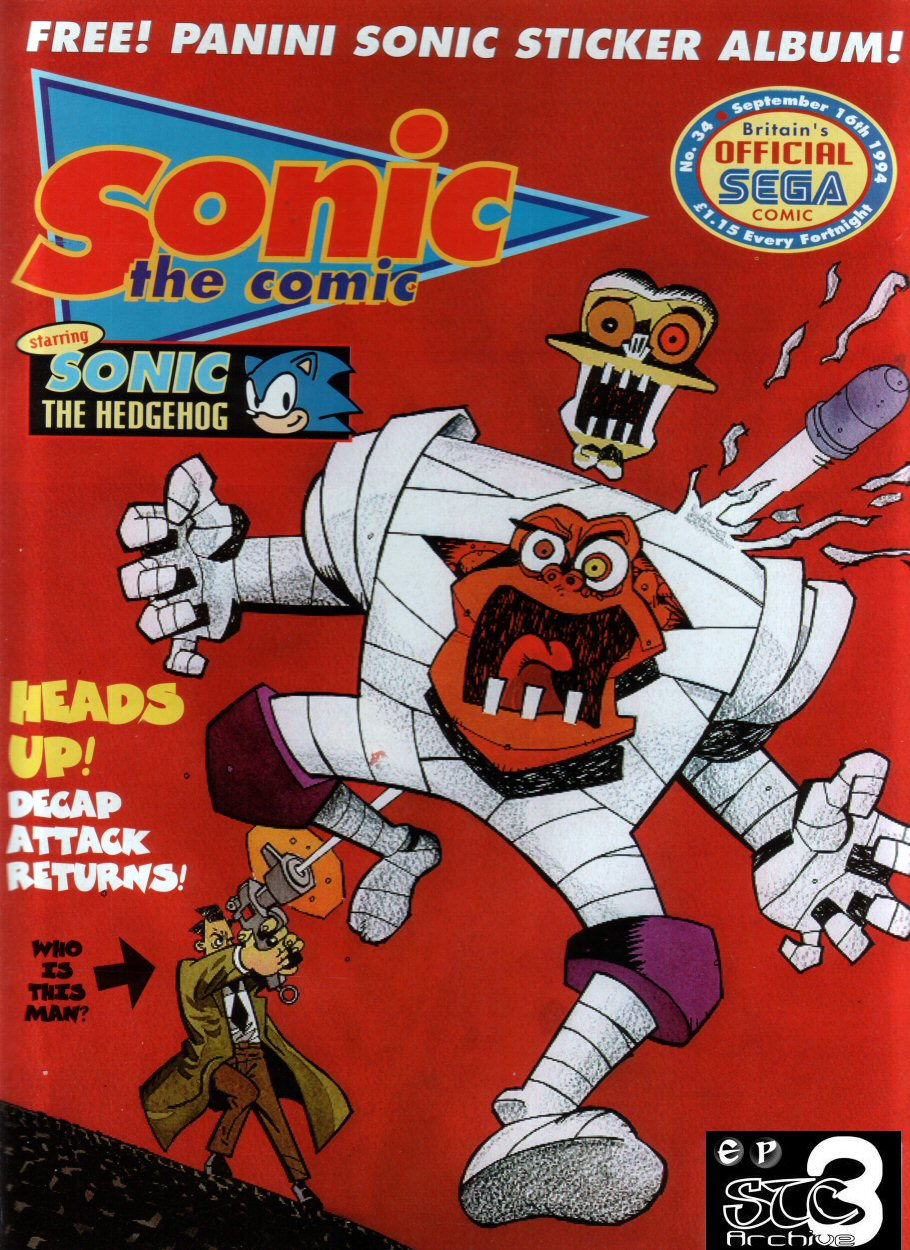 Read online Sonic the Comic comic -  Issue #34 - 1