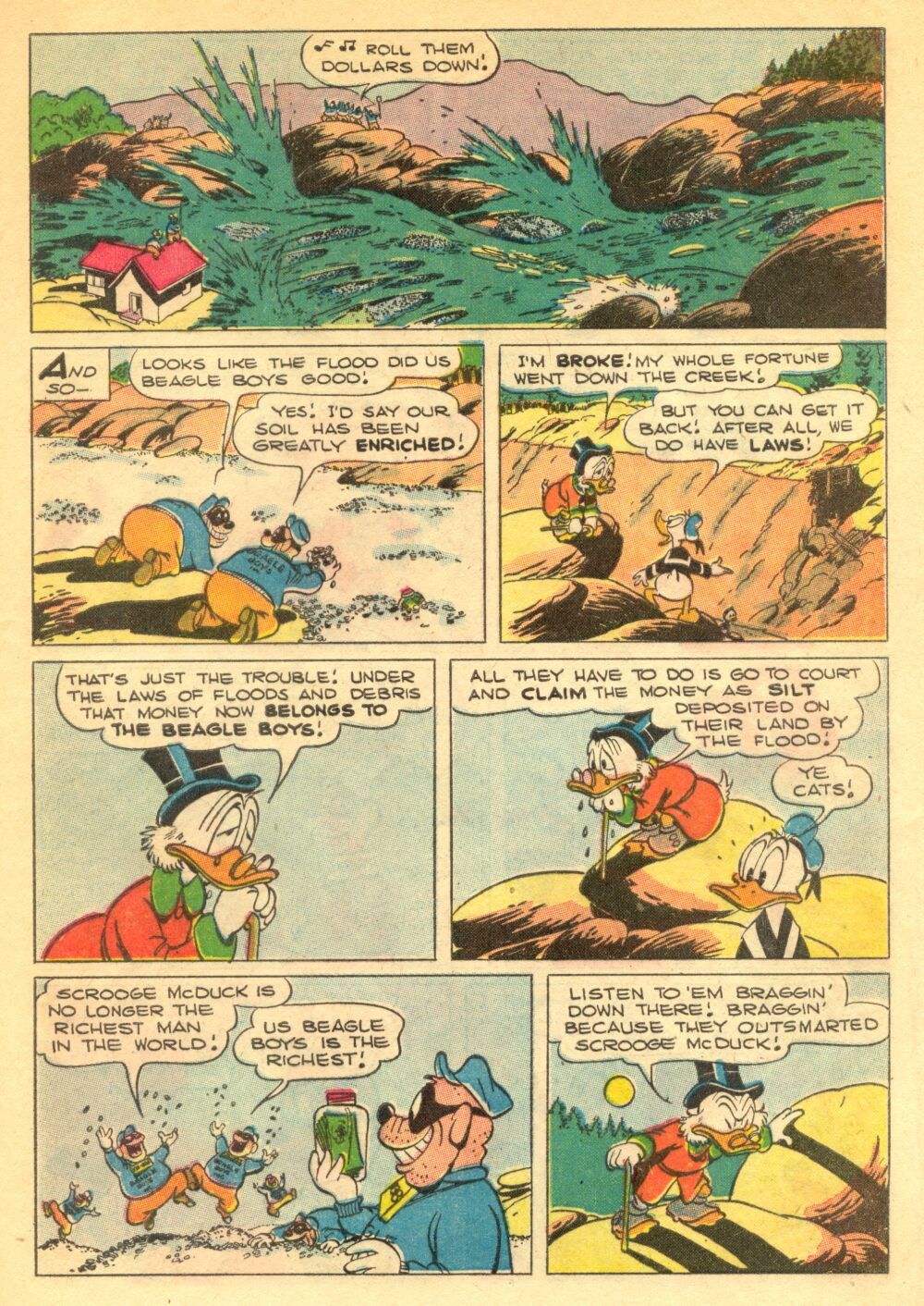 Read online Uncle Scrooge (1953) comic -  Issue #1 - 29