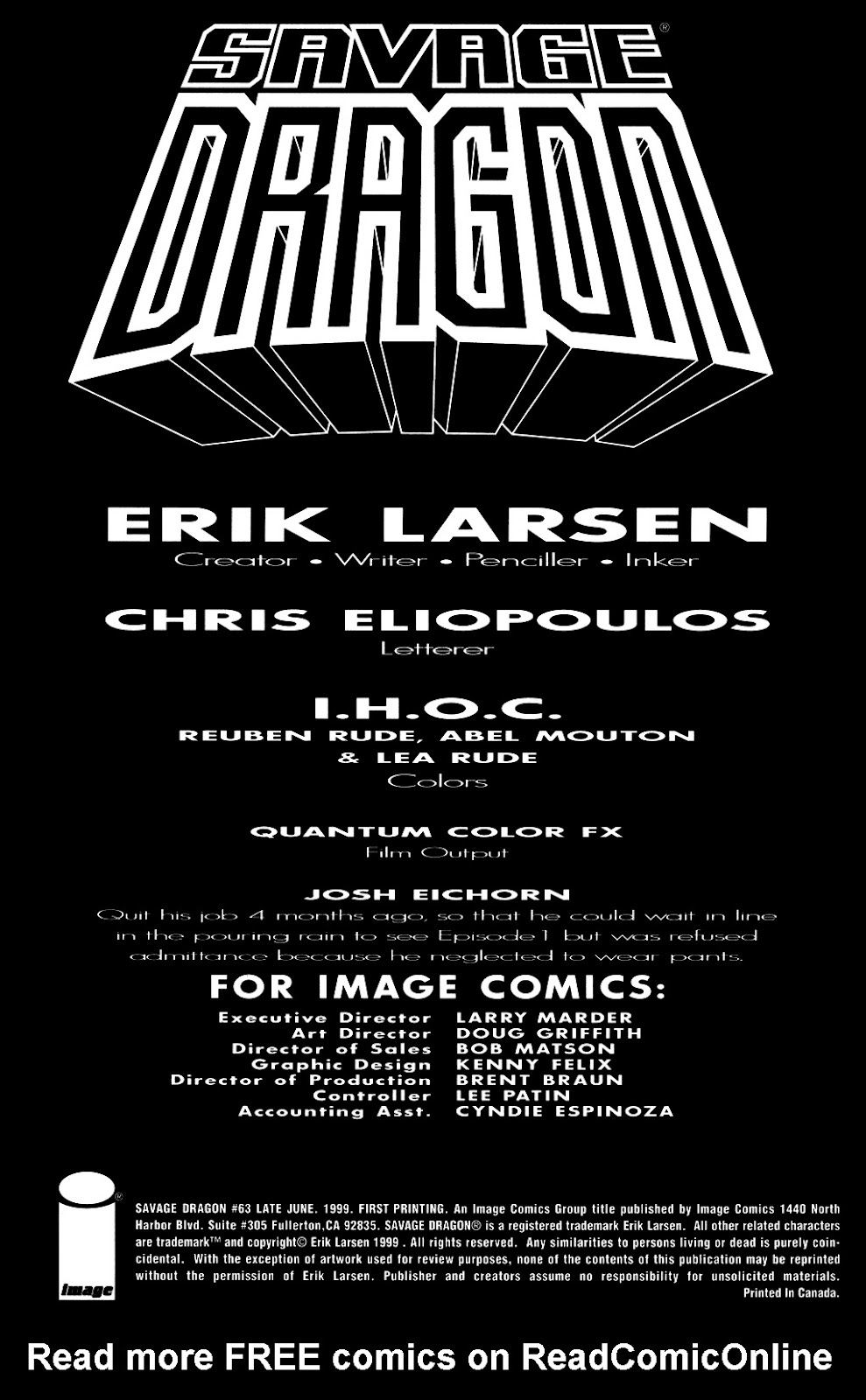The Savage Dragon (1993) Issue #63 #66 - English 2