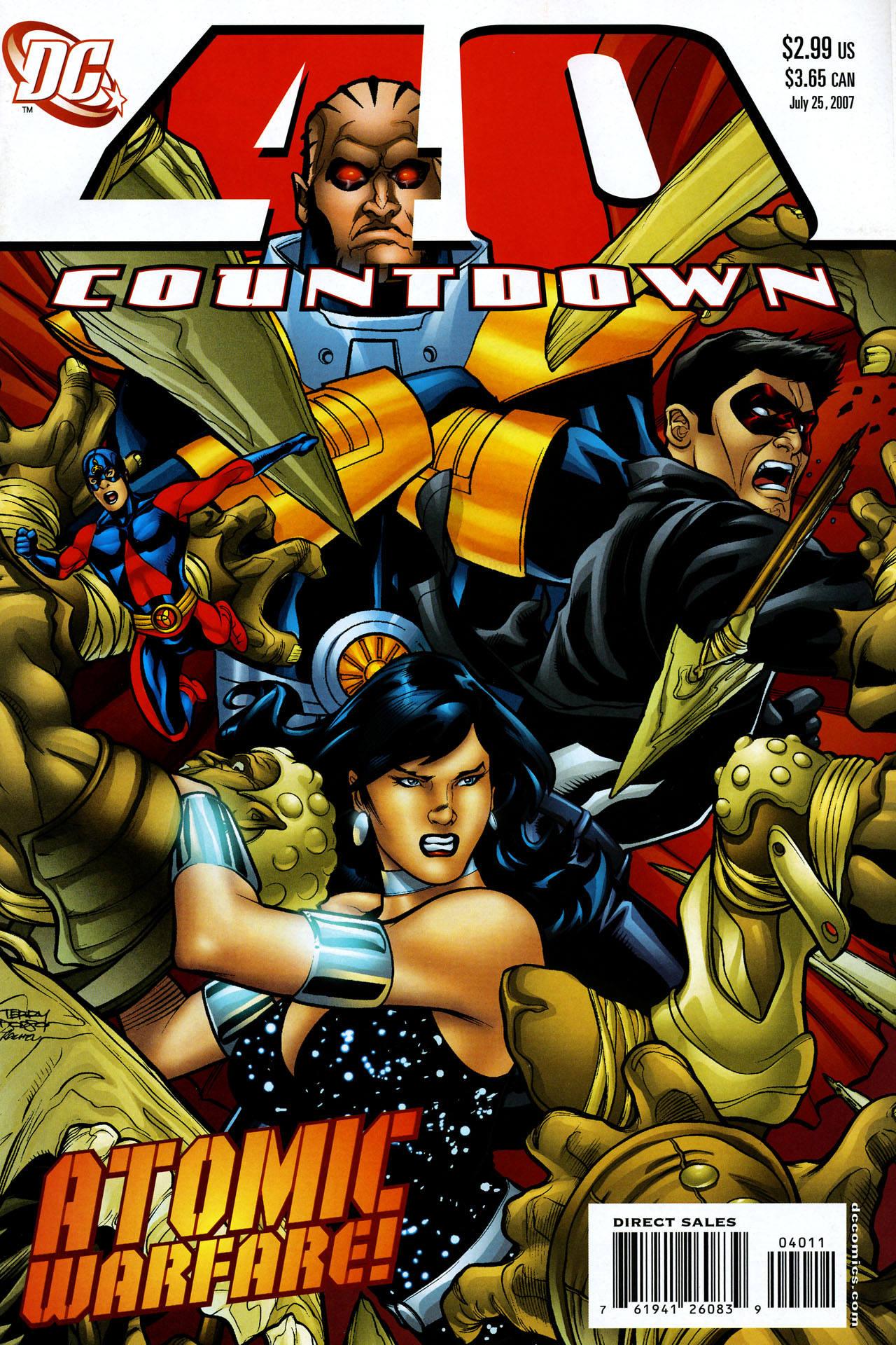 Countdown (2007) 40 Page 1